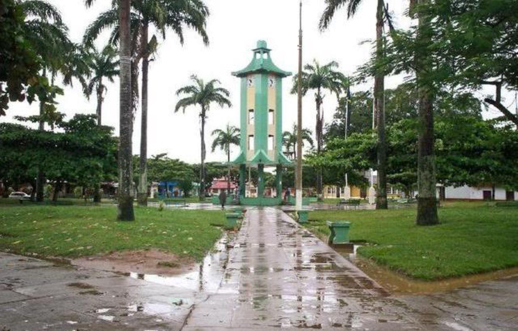 En Puerto Maldonado se presentó también lluvias de mediana intensidad. INTERNET/Medios