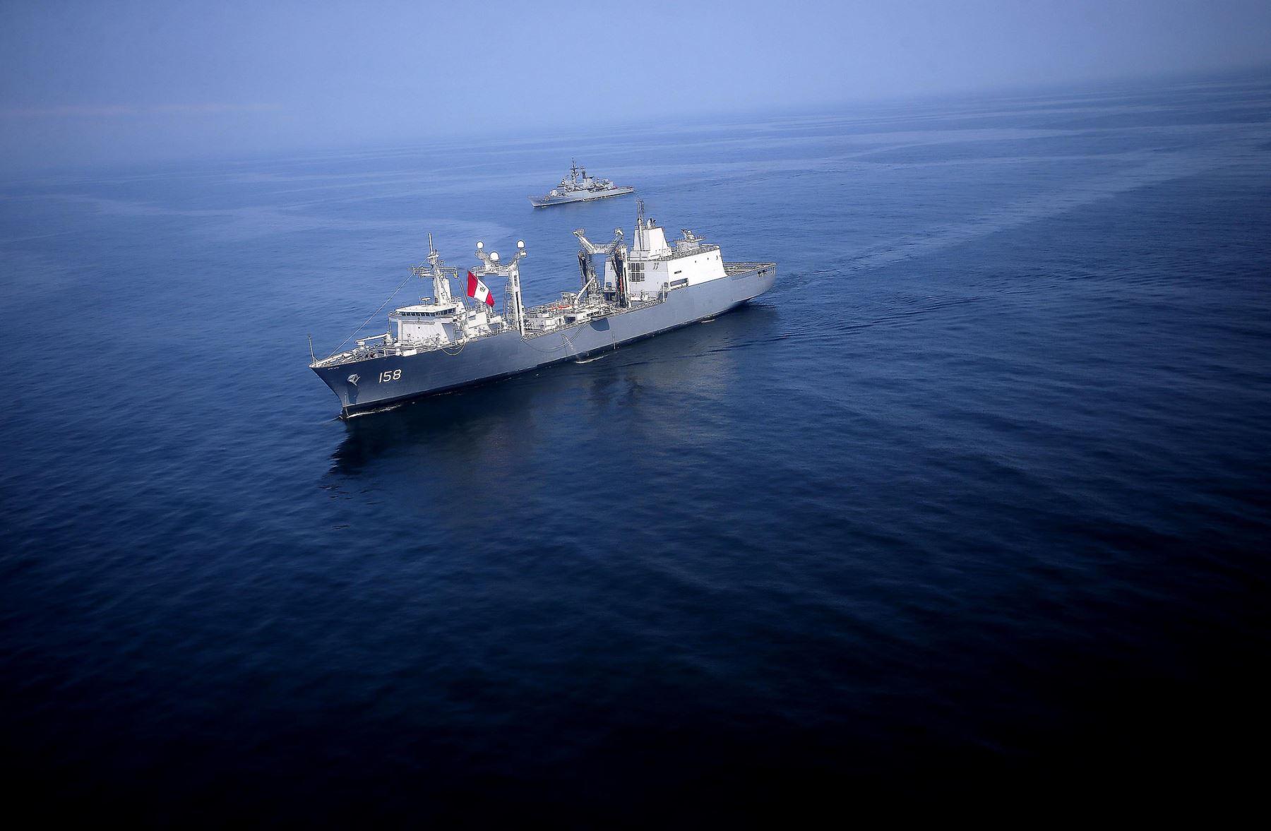 """El Buque de Apoyo Logístico BAP """"Tacna"""" se incorporó oficialmente a la Marina de Guerra del Perú y se convertirá en la mayor unidad naval de soporte logístico para ayuda humanitaria y atención a poblaciones afectadas por desastres naturales."""
