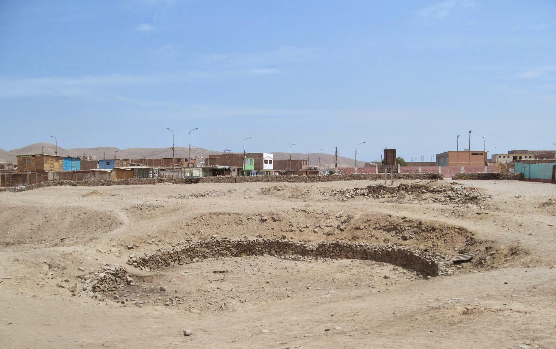 Sitio arqueológico prehispánico Pampa de los Perros, ubicado en el Callao. Foto: Andina/Difusión