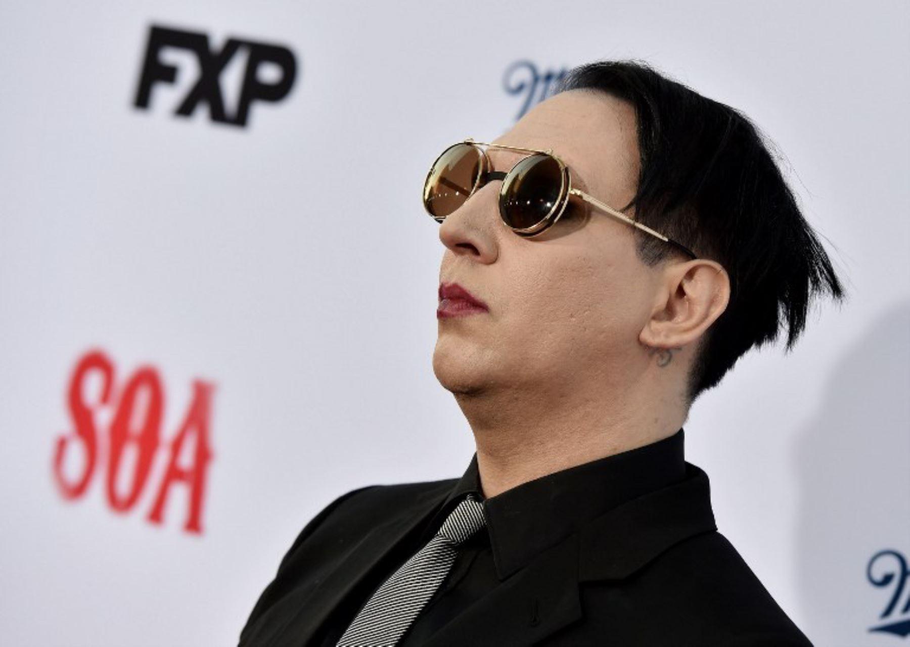 cantante Marilyn Manson