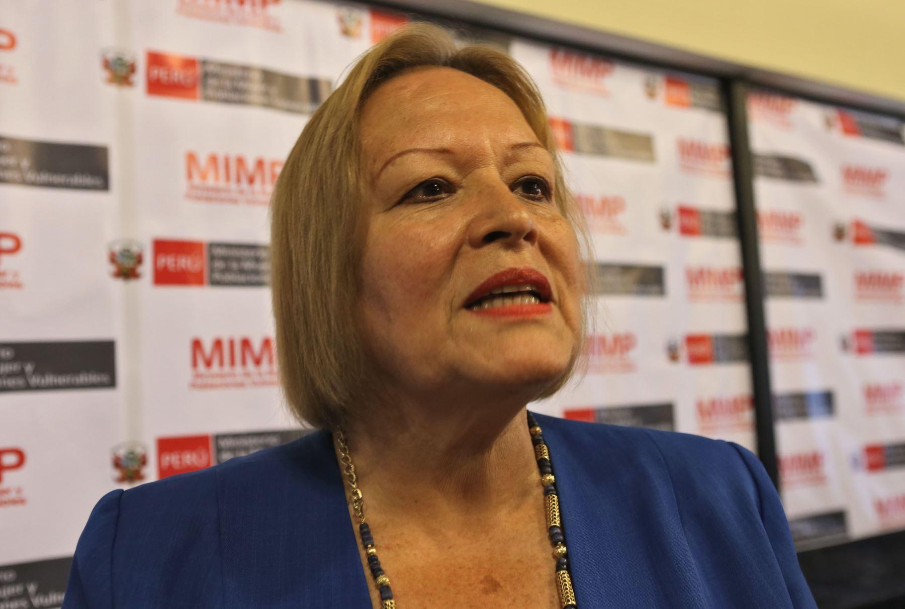 Presidenta de la Cámara de Comercio de Lima, Yolanada Torriani. ANDINA/archivo