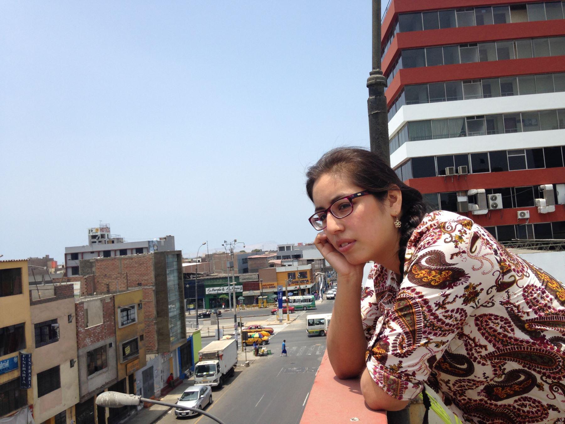 Poeta Melissa Patiño
