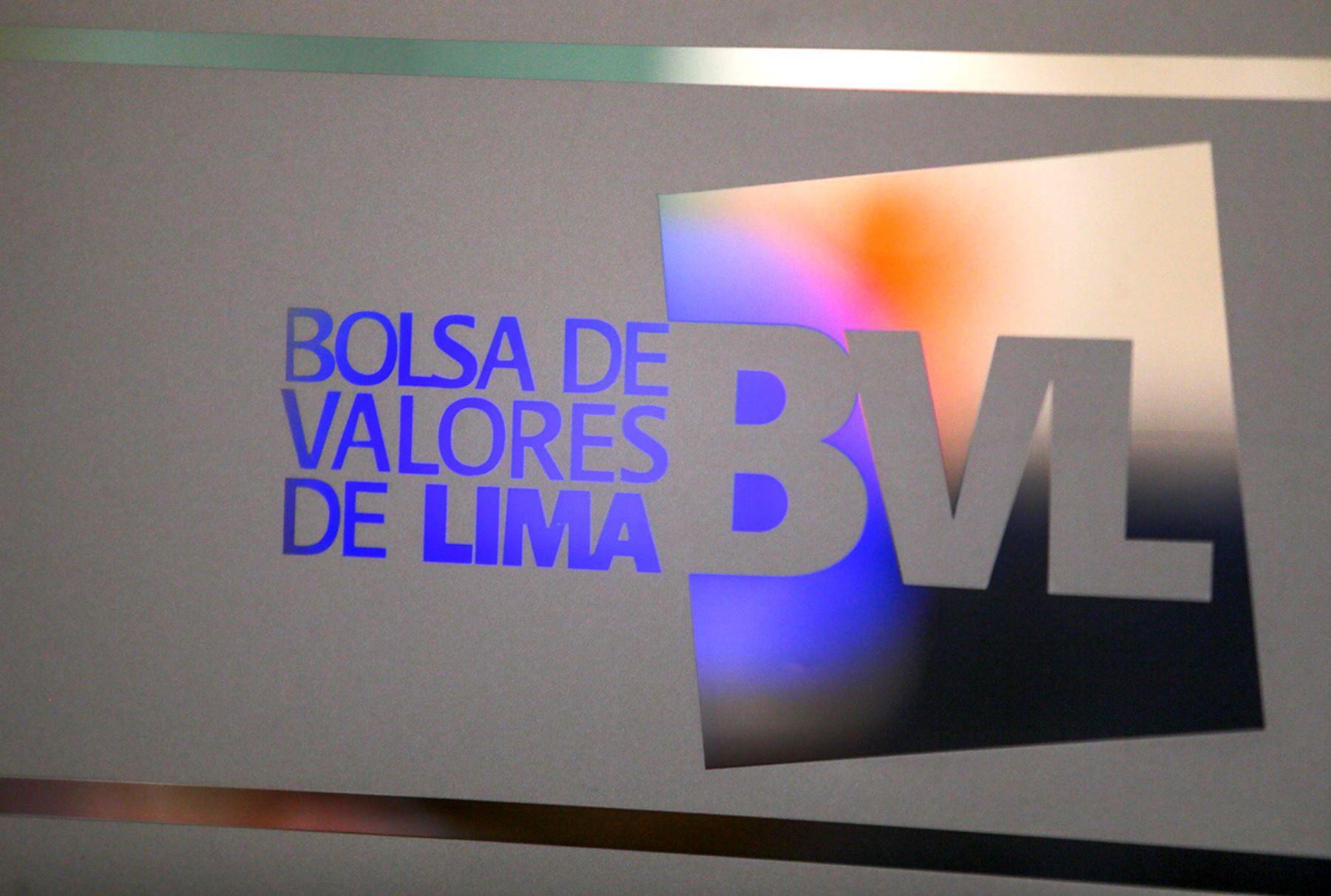 Bolsa de Valores de Lima. ANDINA/Carlos Lezama