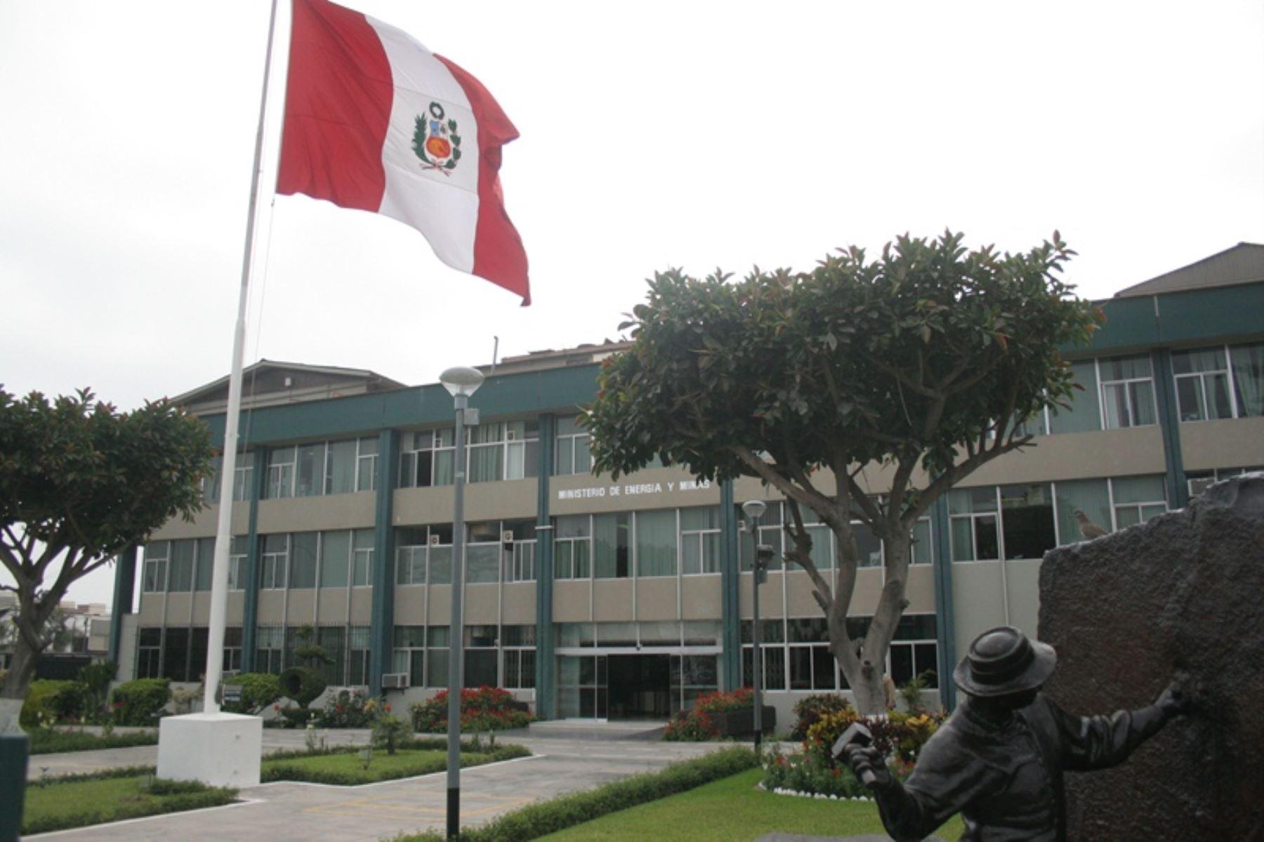 Ministerio de Energía y Minas (MEM). Foto: ANDINA/Difusión.