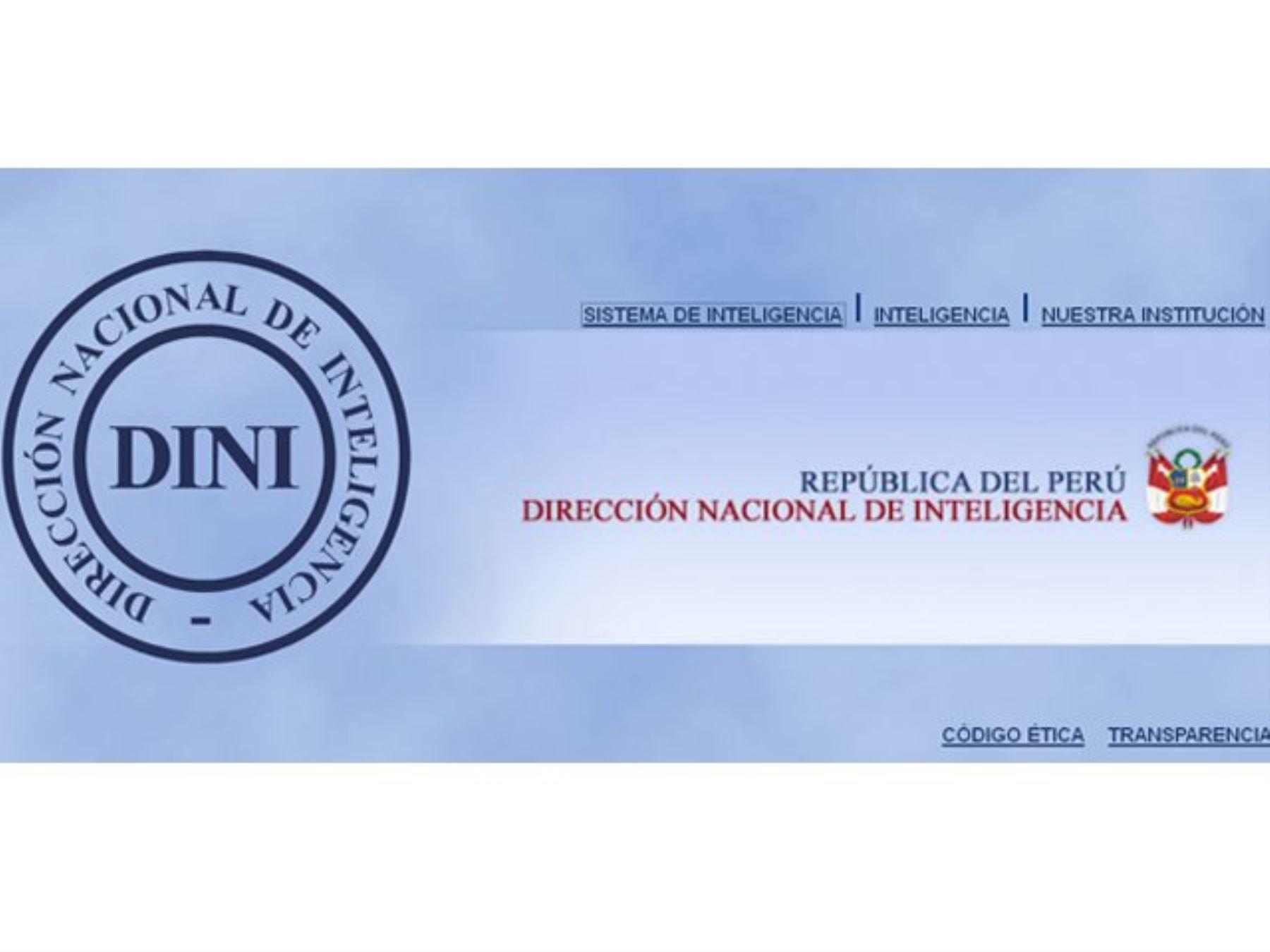 Dirección Nacional de Inteligencia (DINI).
