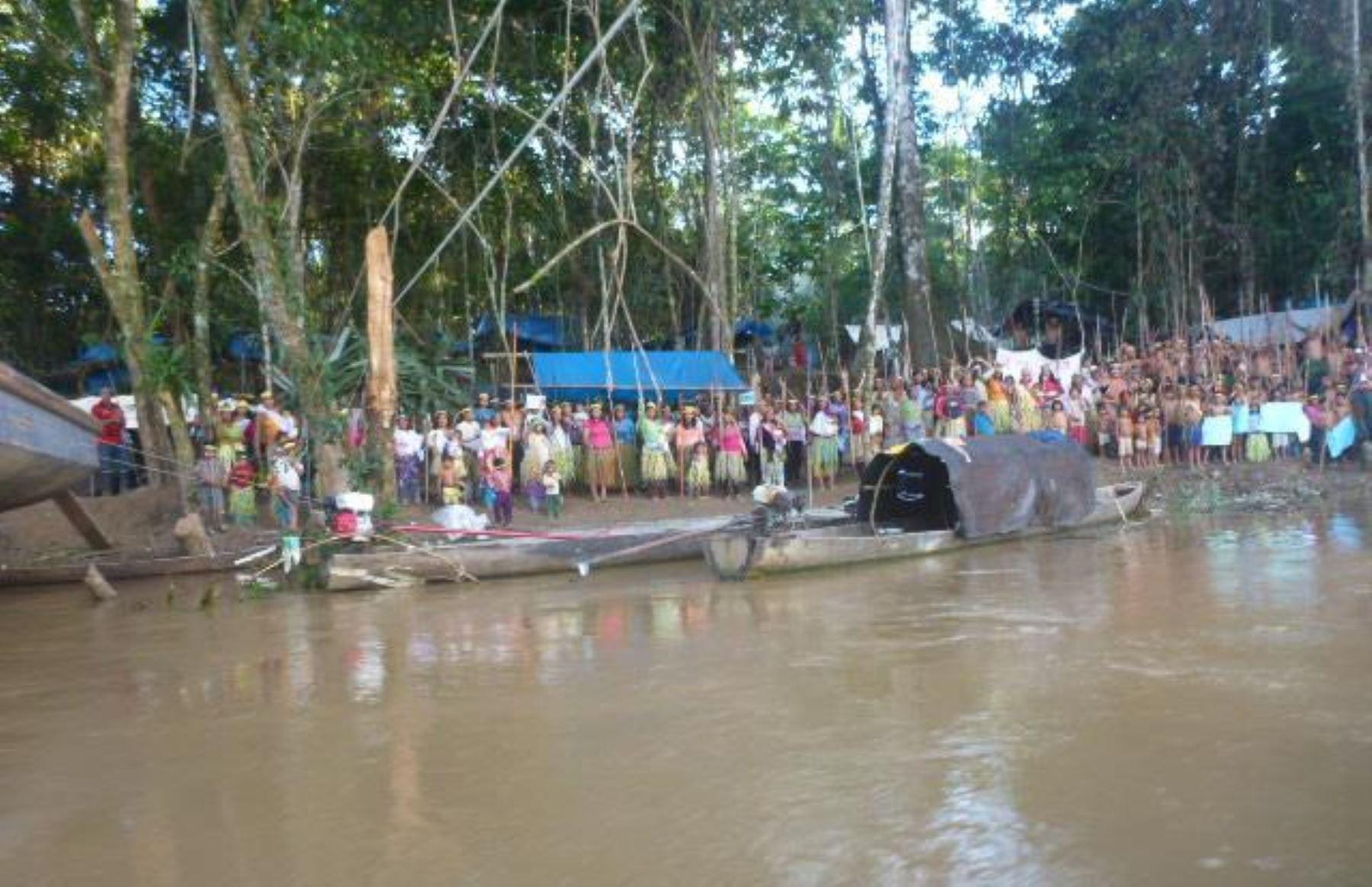 Ejecutivo invoca a los pobladores indígenas a deponer su medida de fuerza en el río Tigre que afecta producción del lote 1AB. FOTO: Internet