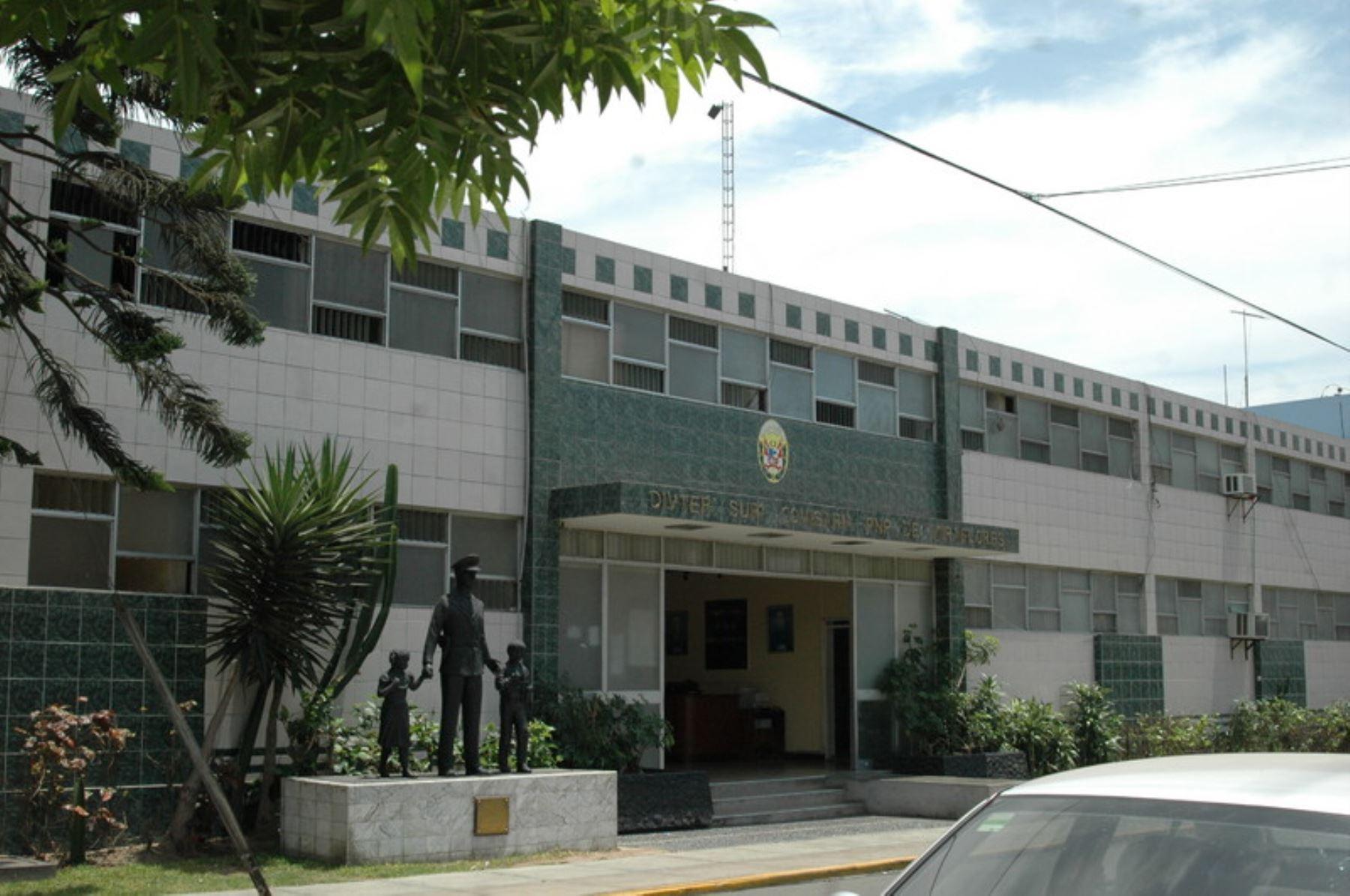 Comisaría de Miraflores. Foto: ANDINA/Difusión