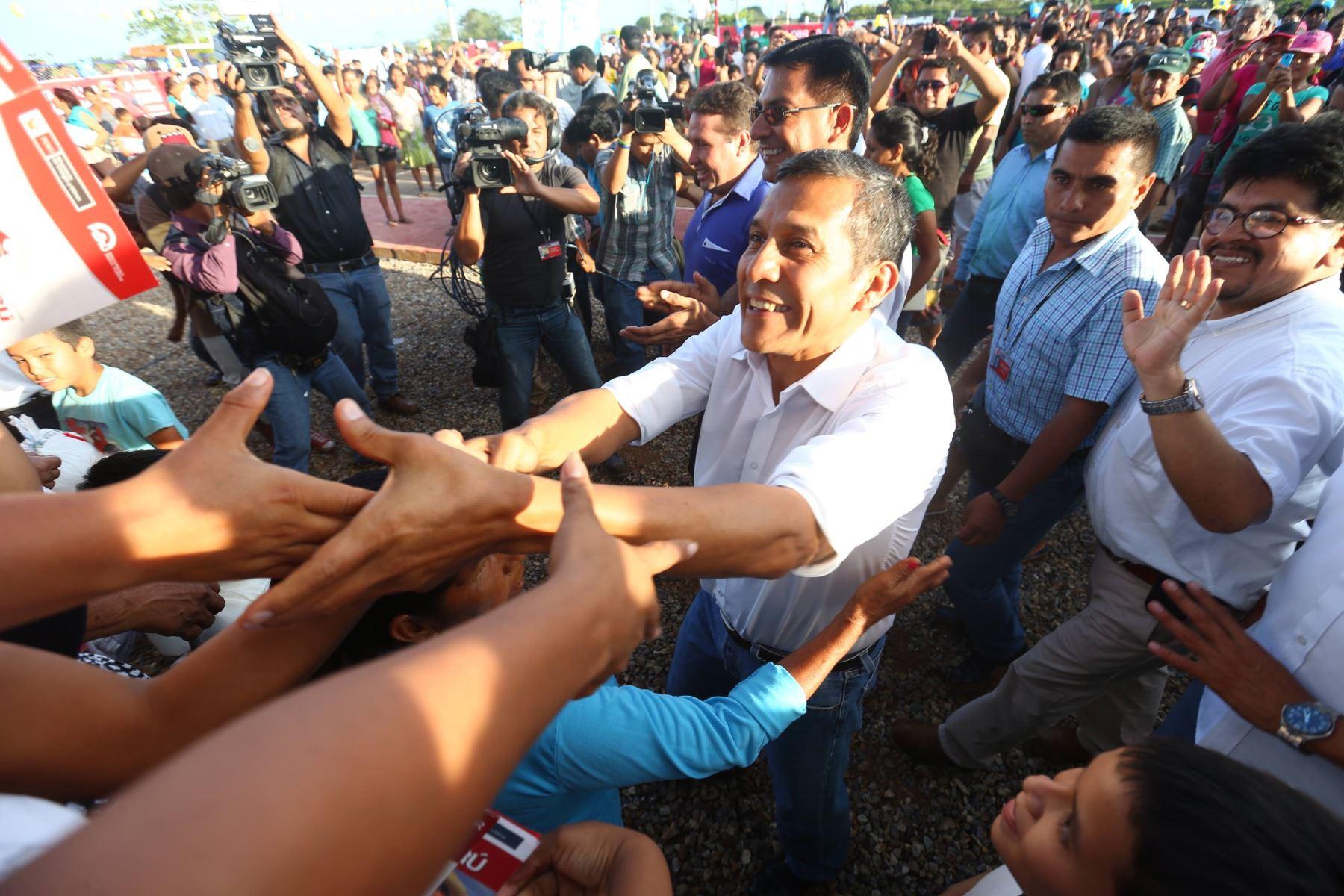 Presidente Ollanta Humala. Foto: Cortesía.