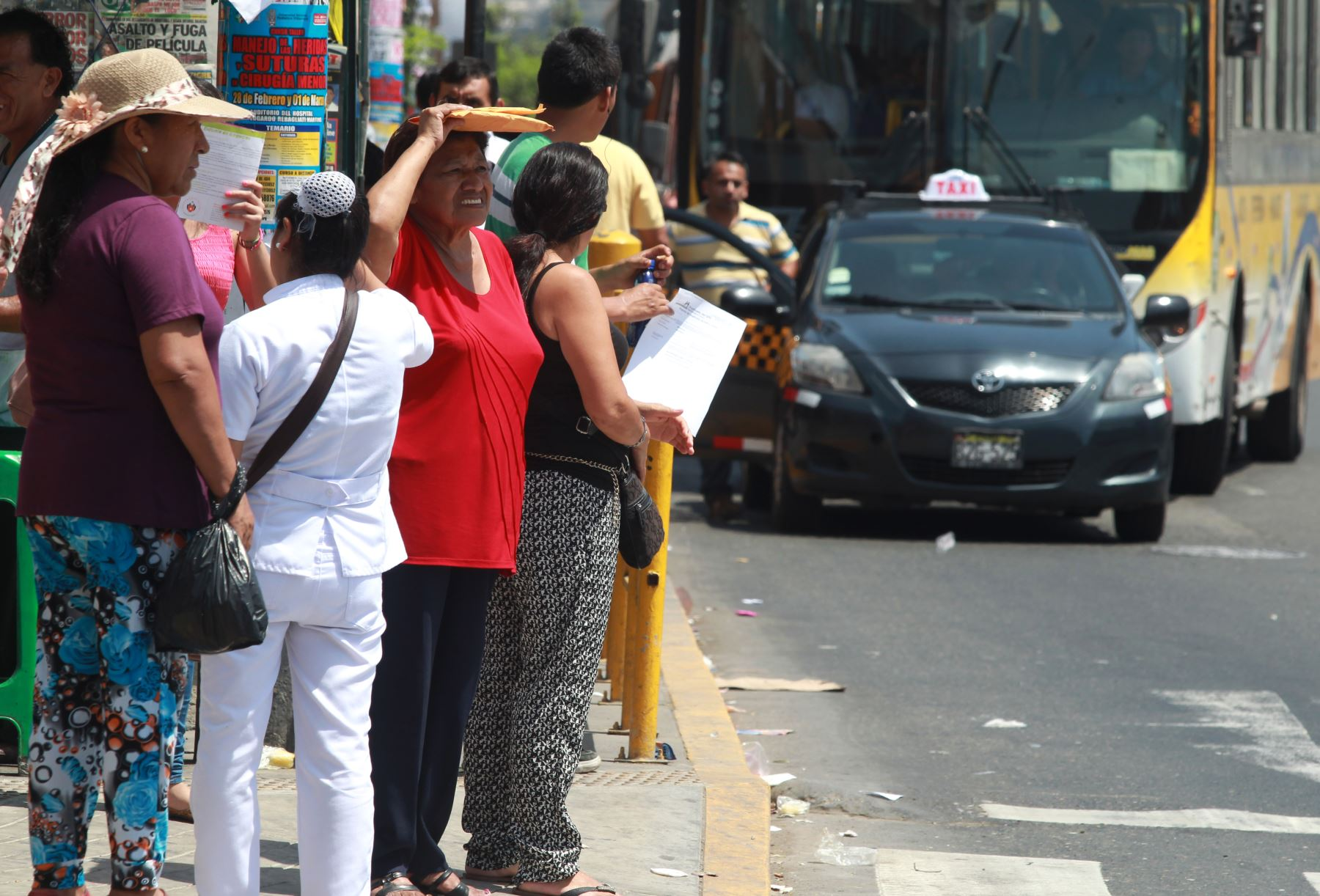 Sepa cómo actuar para enfrentar las altas temperaturas y el golpe de calor.Foto:  ANDINA/Melina Mejía