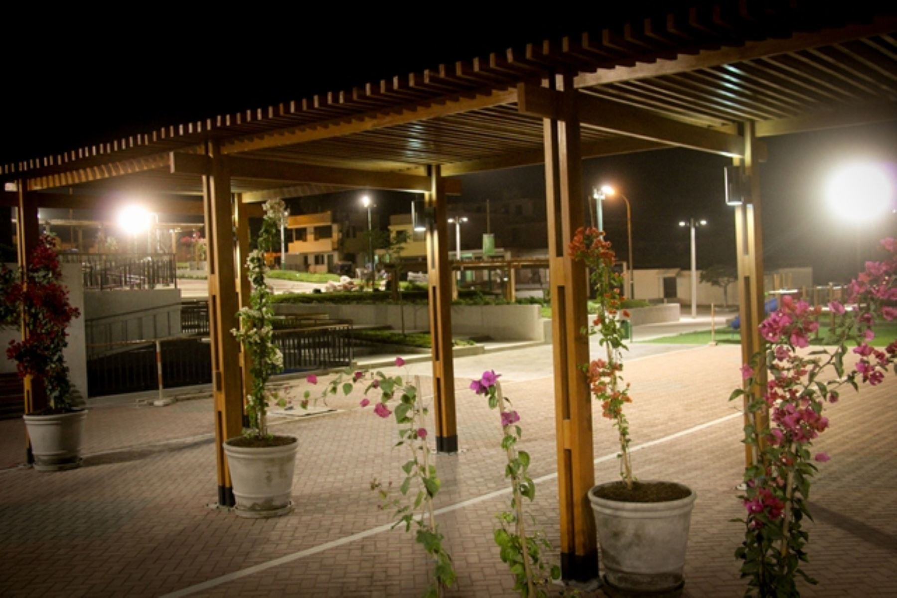 Moderna plaza de armas de Cieneguilla. Foto: Difusión