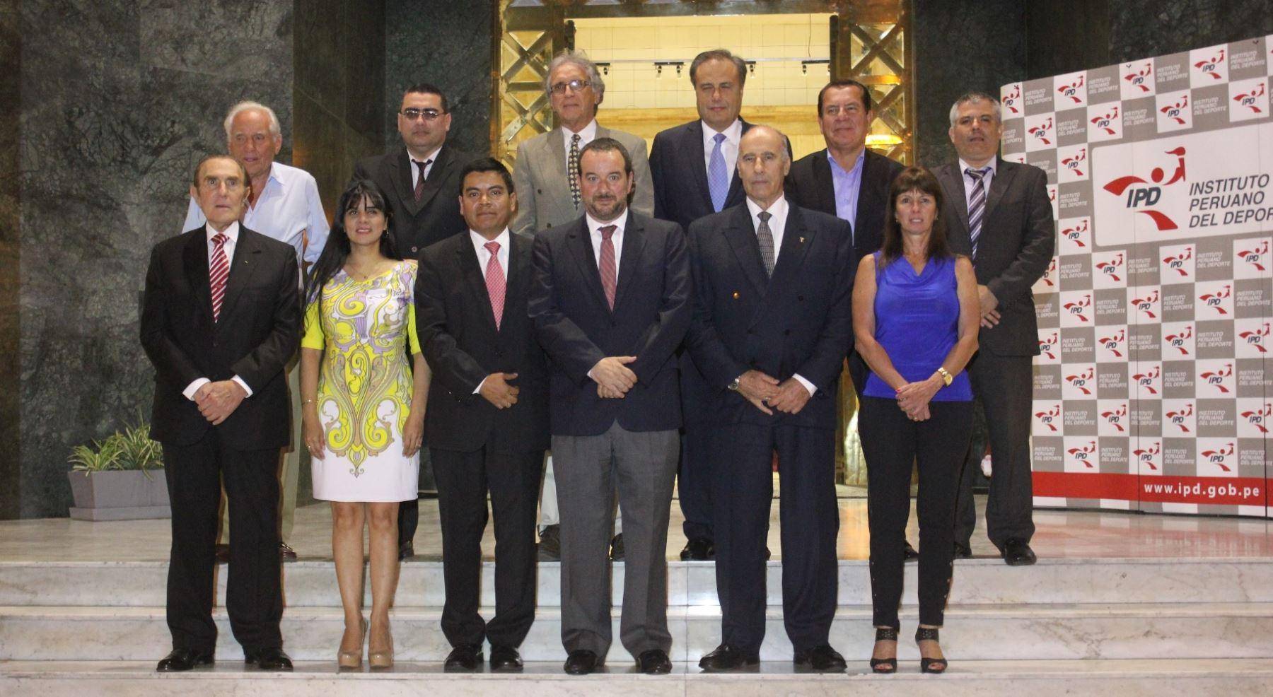 Fue instalada la comisión organizadora de los XVII Juegos Deportivos Panamericanos Lima 2019 (COPAL). Difusión