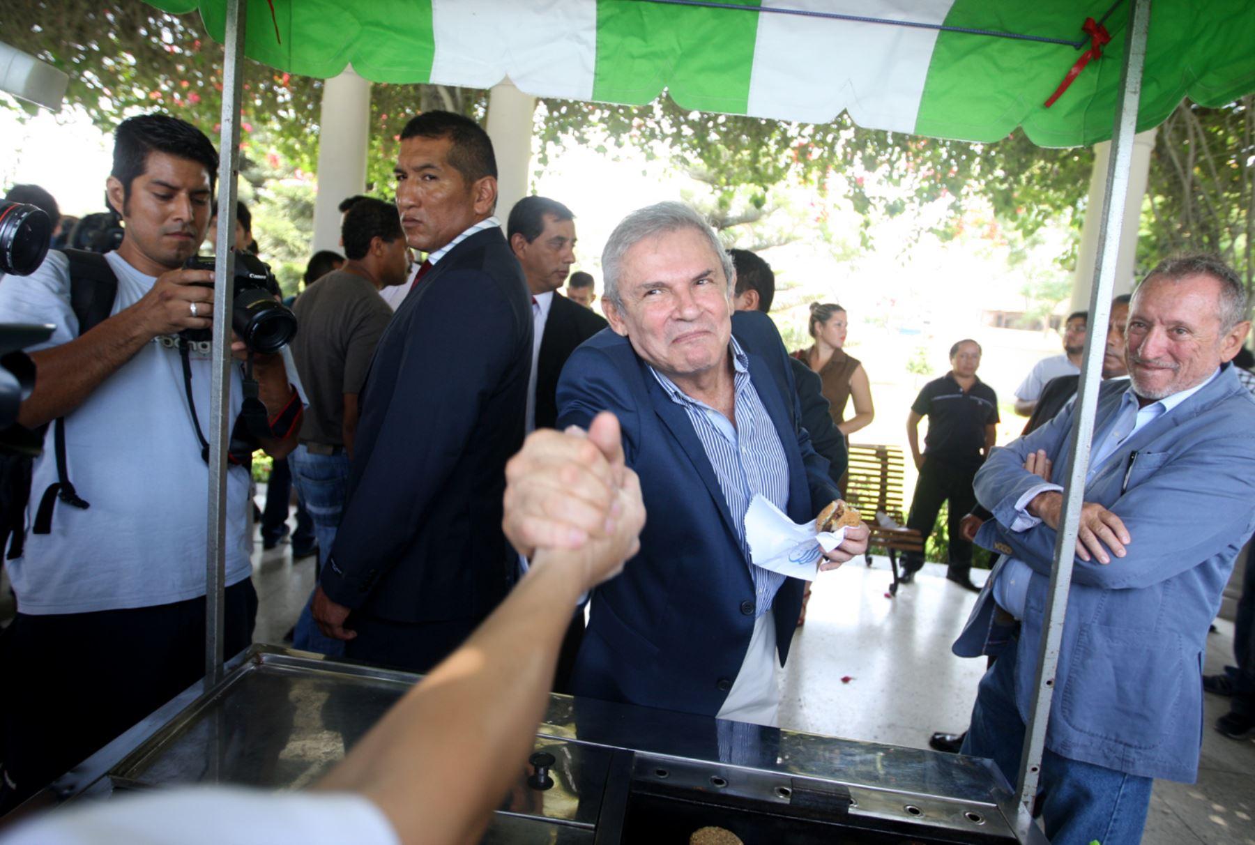 Alcalde de Lima, Luis Castañeda Lossio. Foto: ANDINA/Renato Pajuelo
