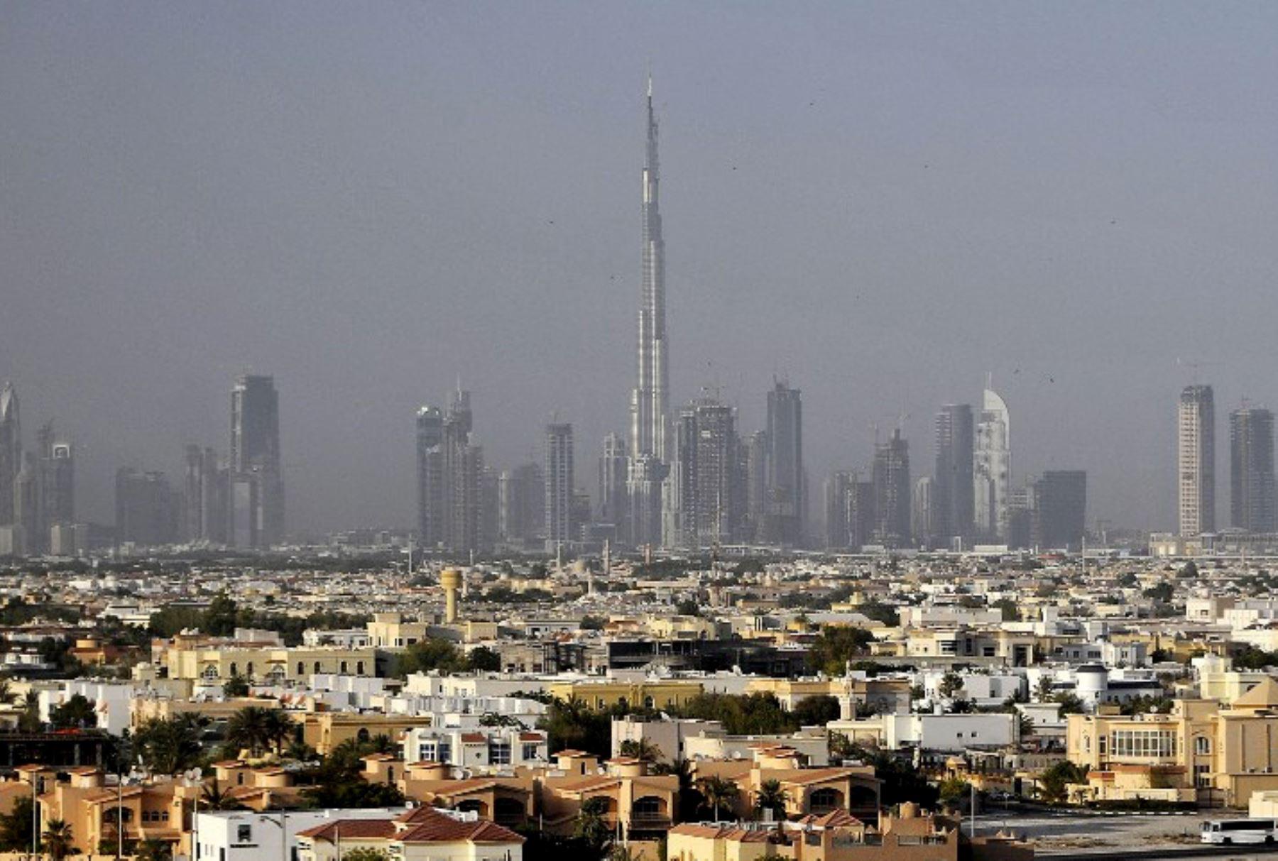 Vista de la ciudad de Dubái. Foto: AFP