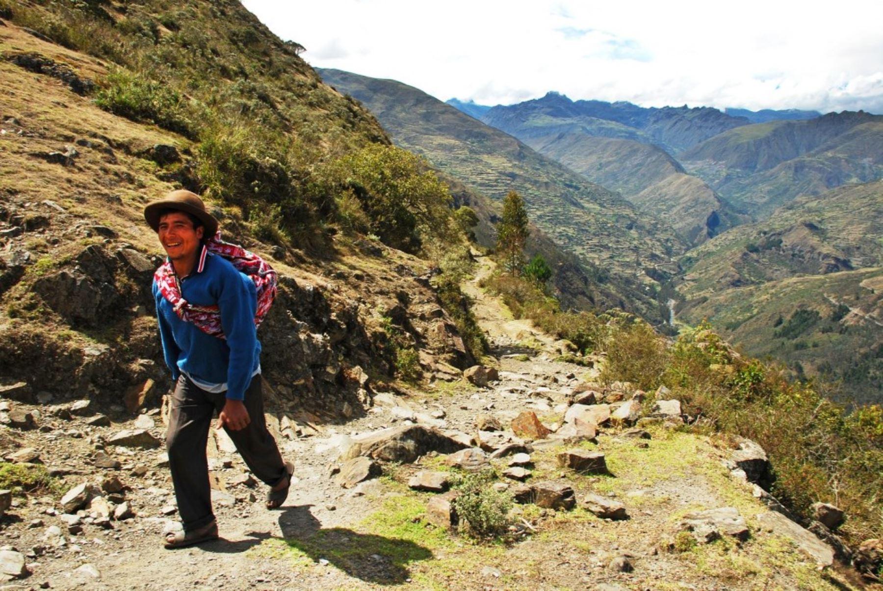 Camino inca del Qhapaq Ñan. Foto: ANDINA/Difusión.