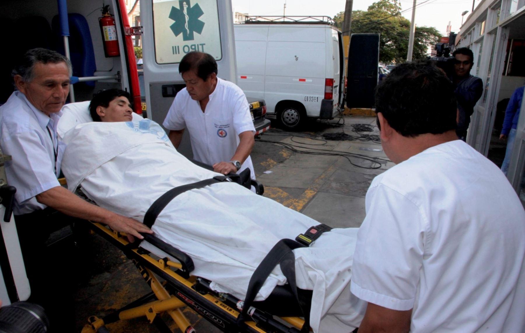 Los heridos fueron trasladados a los hospitales ubicados en La Oroya, en Junín. ANDINA/Difusión