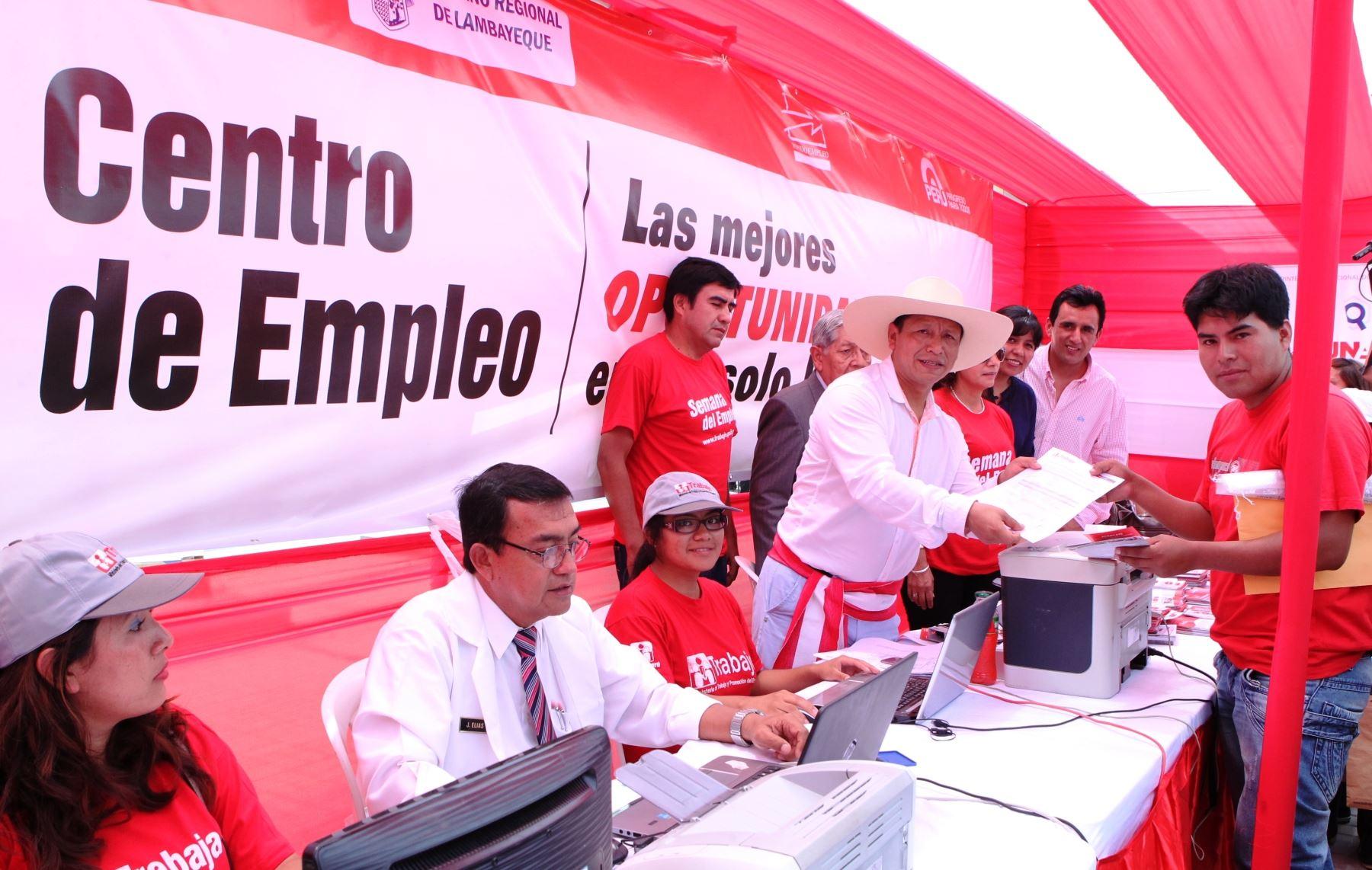 Ministro de Trabajo, Daniel Maurate, cumplió una jornada de trabajo en Chiclayo.
