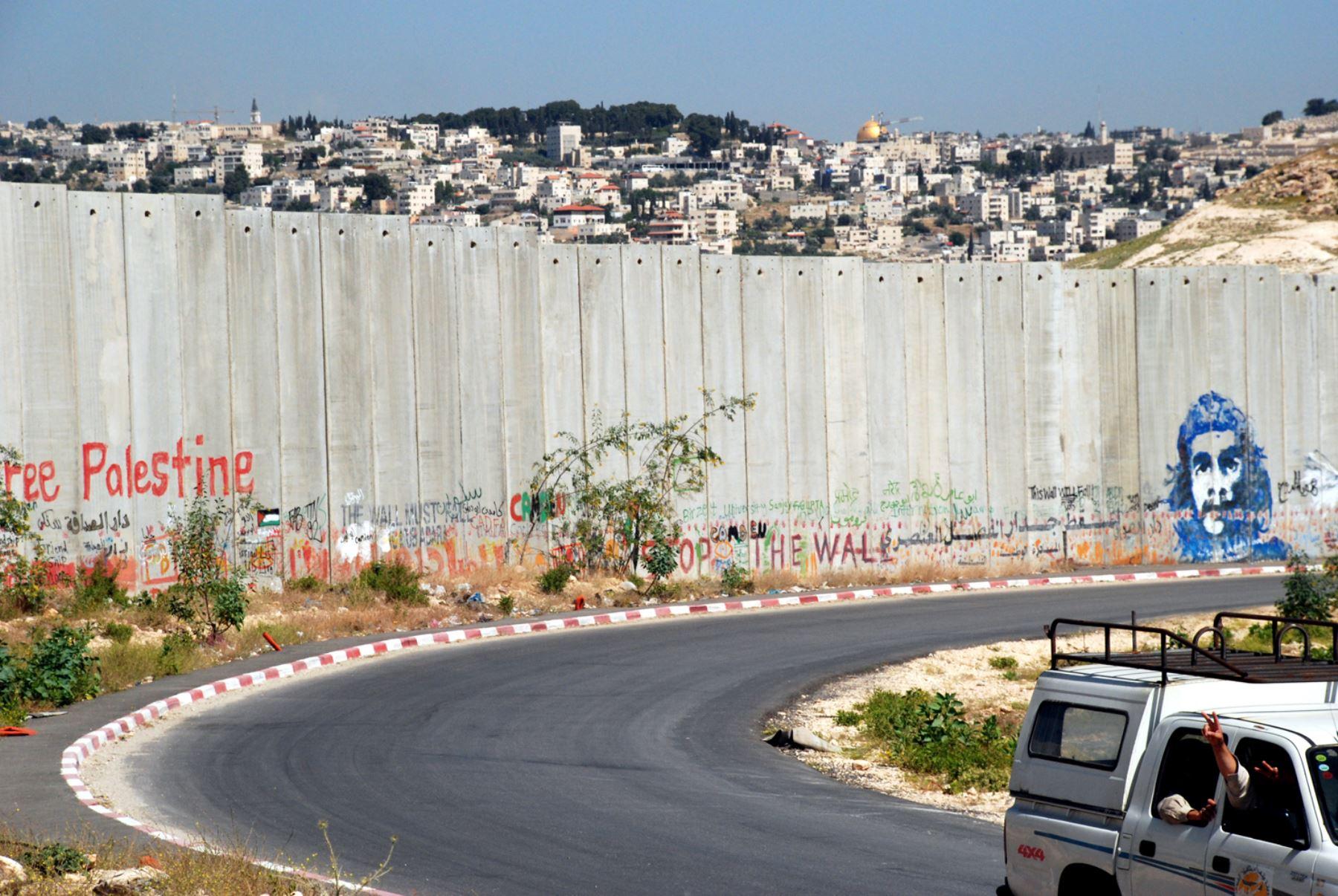Muestra sobre los muros del siglo XXI