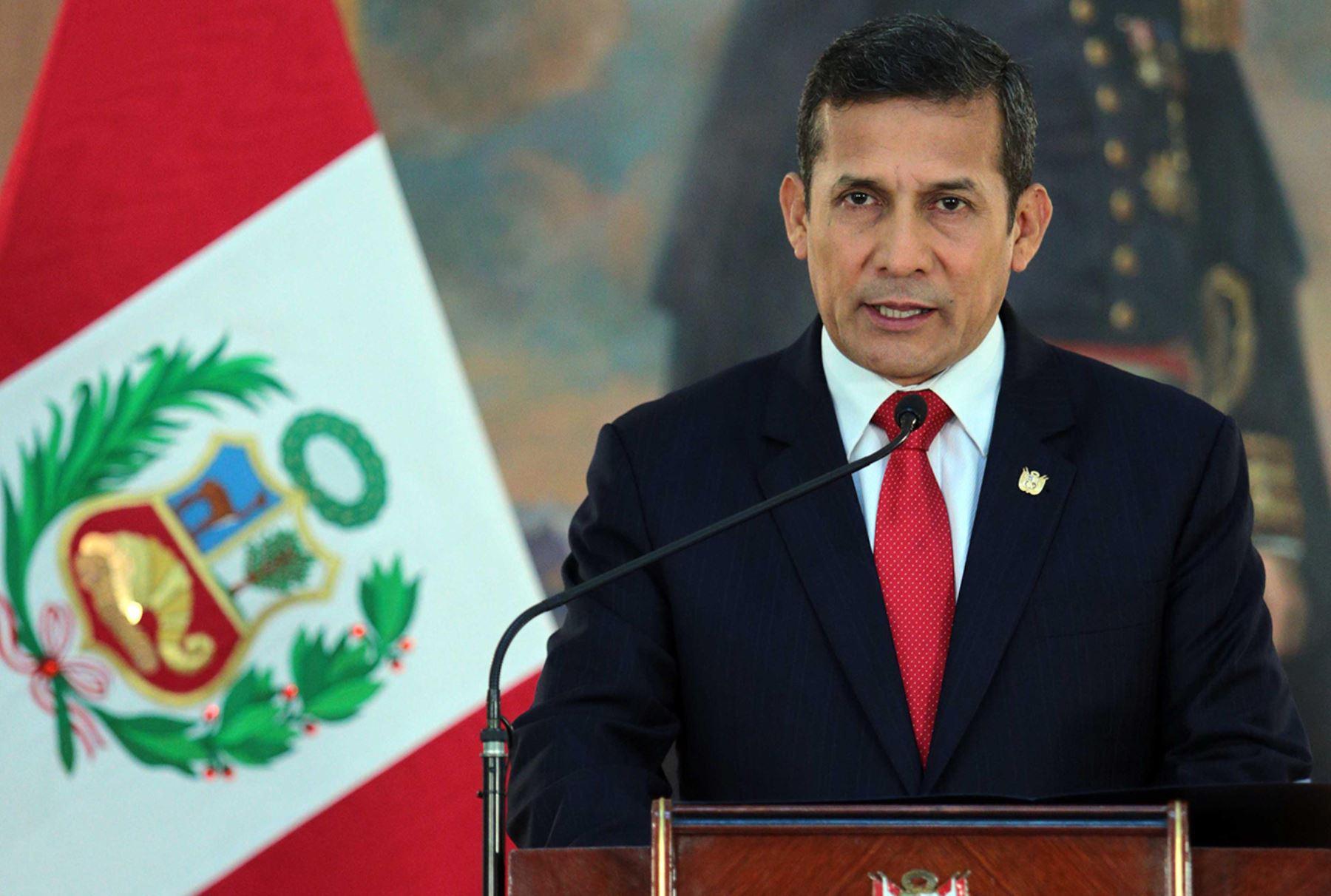 Presidente Ollanta Humala da por concluido caso de espionaje de Chile (ampliación)   Noticias   Agencia Peruana de Noticias Andina