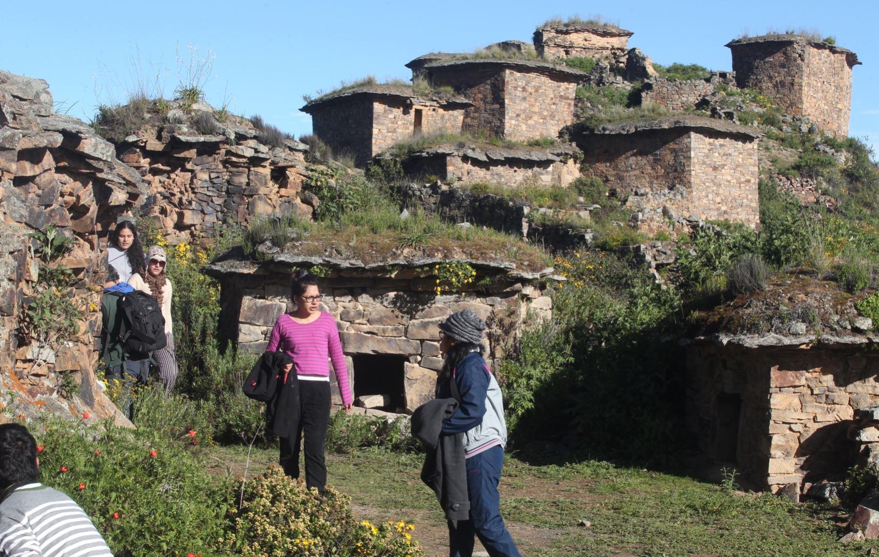 Complejo arqueológico Rúpac, se ubica en la provincia de Huaral, región Lima. ANDINA/Vidal Tarqui