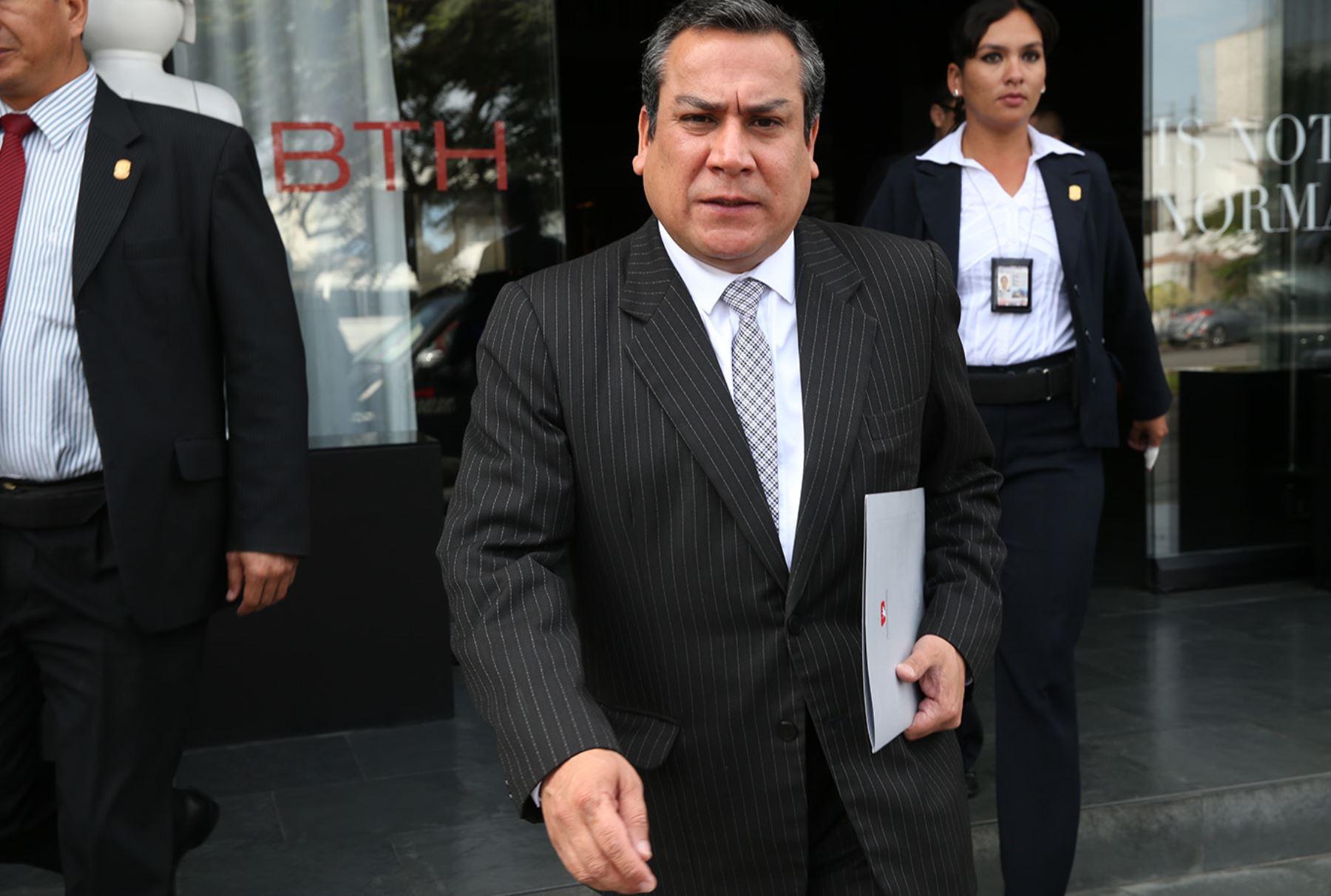 Ministro de Justicia, Gustavo Adrianzén. Foto: ANDINA/Archivo.