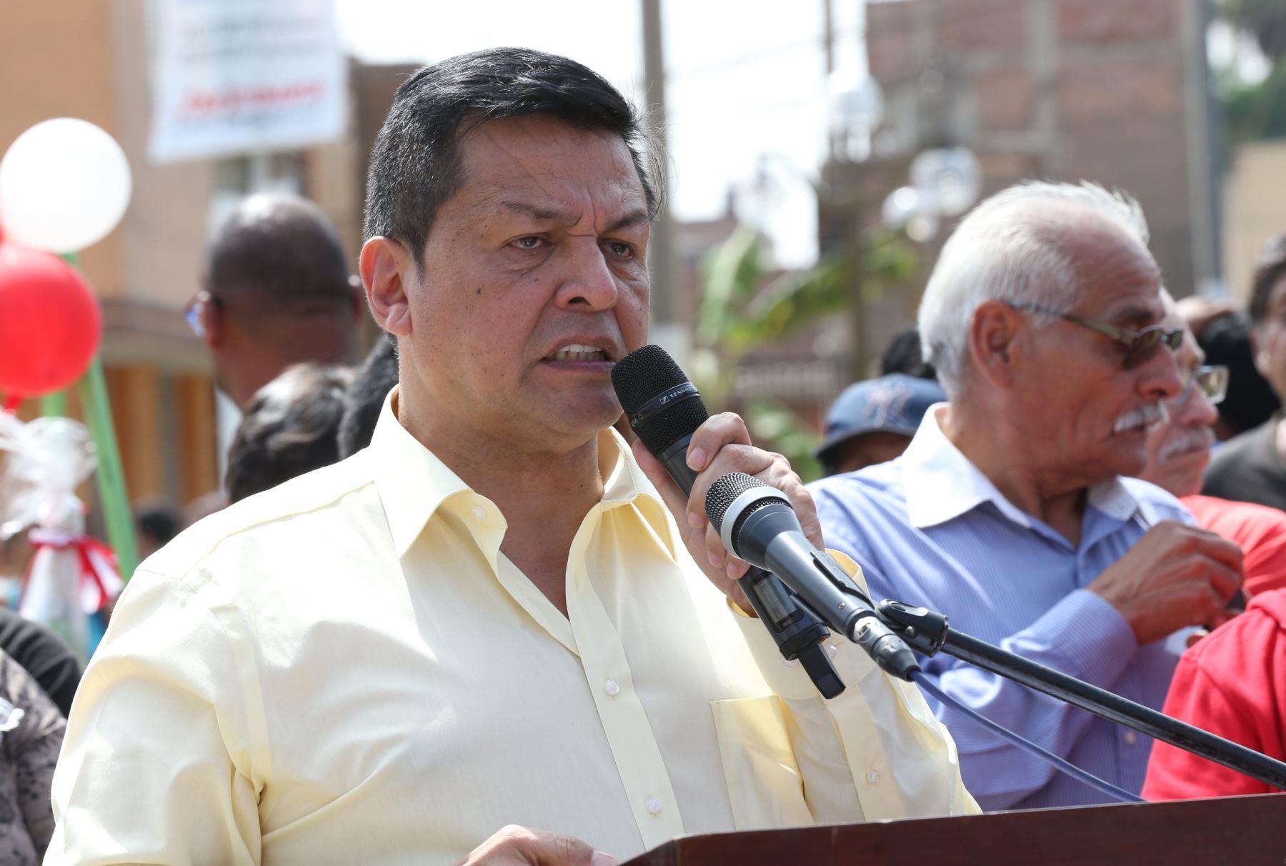 Exalcalde del Callao, Juan Sotomayor. Foto: ANDINA/Archivo.
