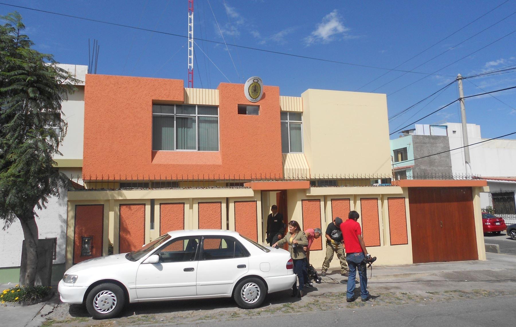 Fiscalía de Crimen Organizado de Arequipa investiga el caso de la presunta extorsión, pedido de pago de soborno, contra la ejecución del proyecto Tía María. Foto: ANDINA/Rocío Méndez.
