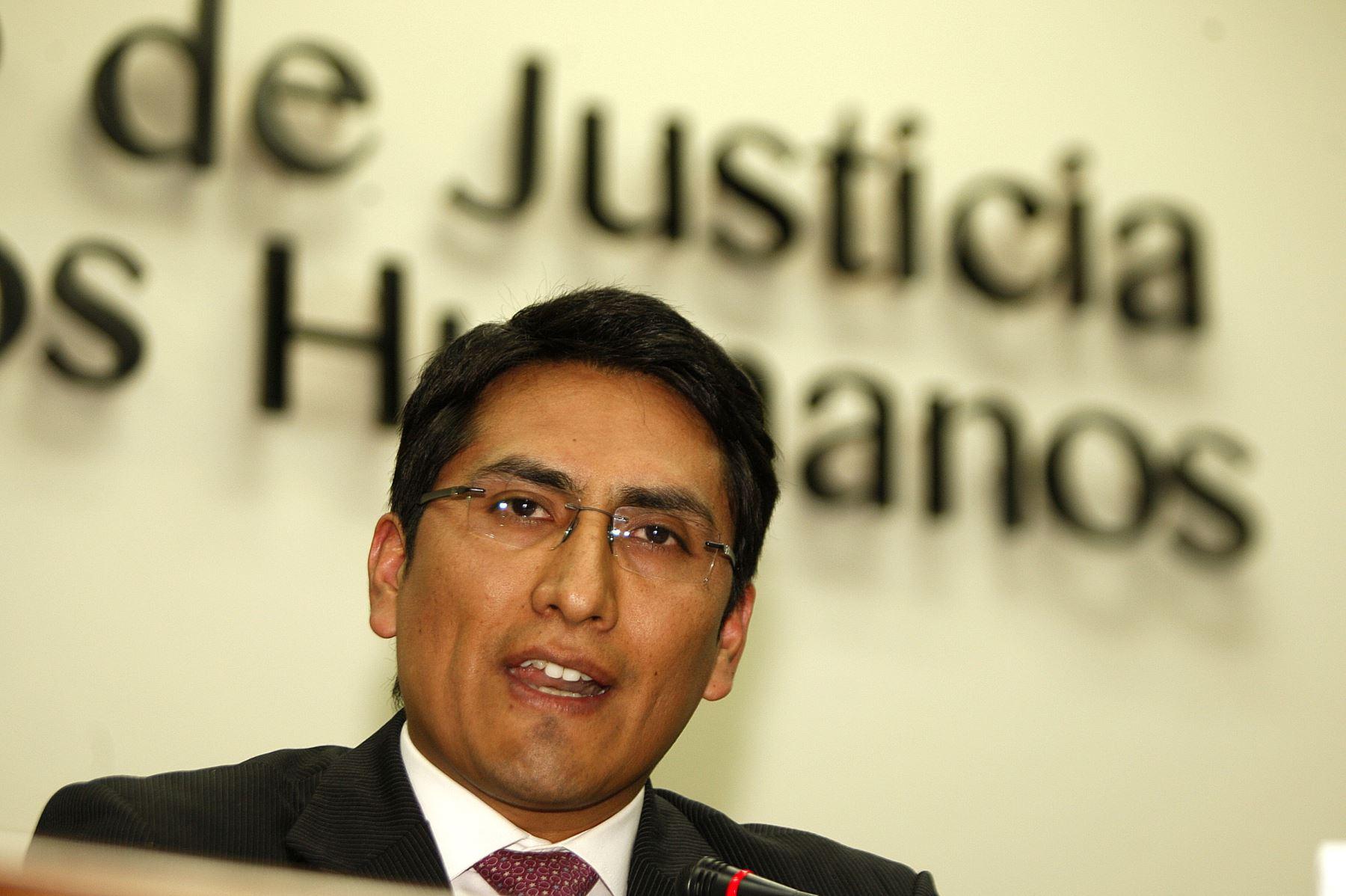 Procurador anticorrupcióin, Joel Segura. ANDINA/Héctor Vinces