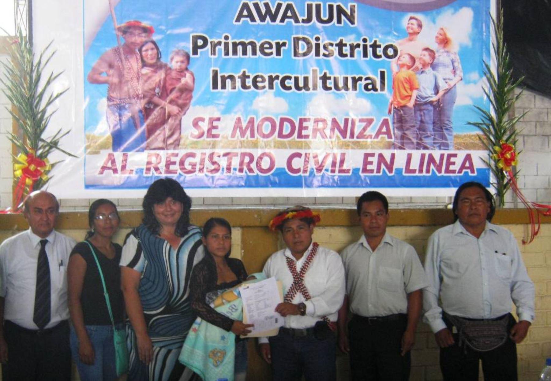 Reniec implementa primer registro civil bilingüe en línea en castellano y awajún. Foto: ANDINA/Difusión.