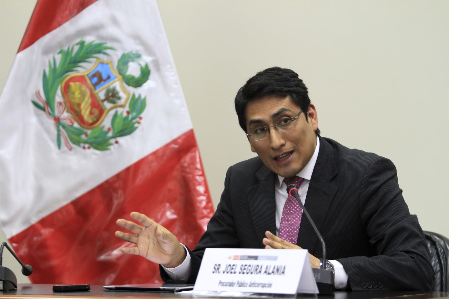 Procurador anticorrupción Joel Segura