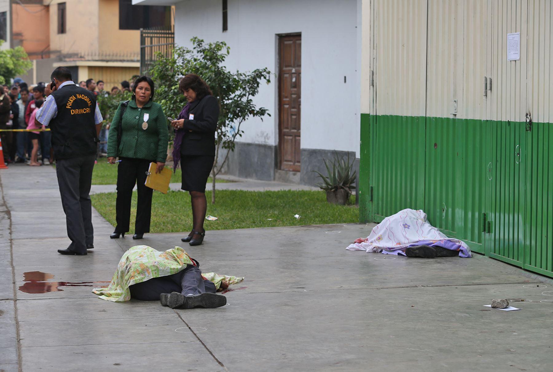Vigilantes asesinados eran hermanos y se desconoce por el momento causas del crimen.