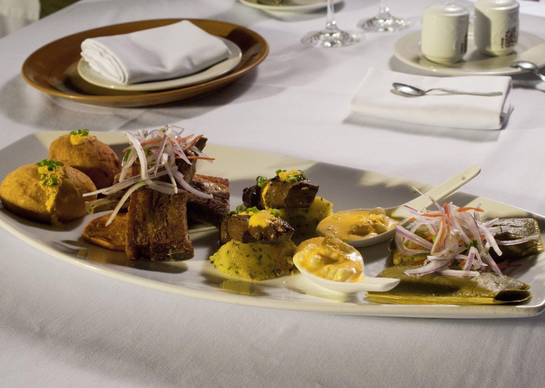 Gastronomía peruana. Foto: Mincetur.