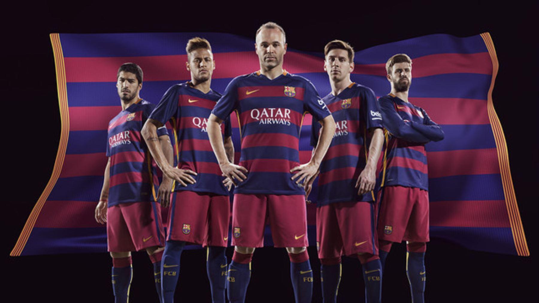 FC Barcelona modificará su vestimenta y apuesta por las franjas ... dcf6b1a856972