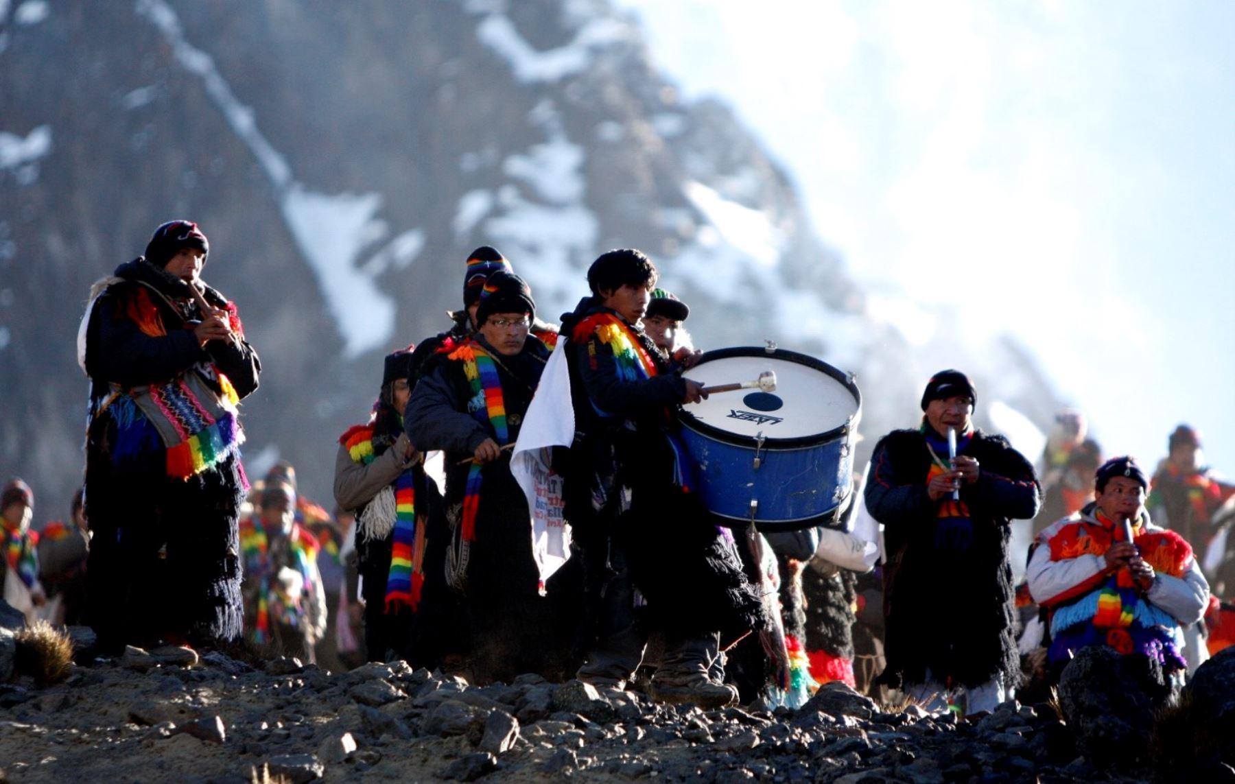 celebración del Señor de Qoyllur Riti. ANDINA/Percy Hurtado Santillán