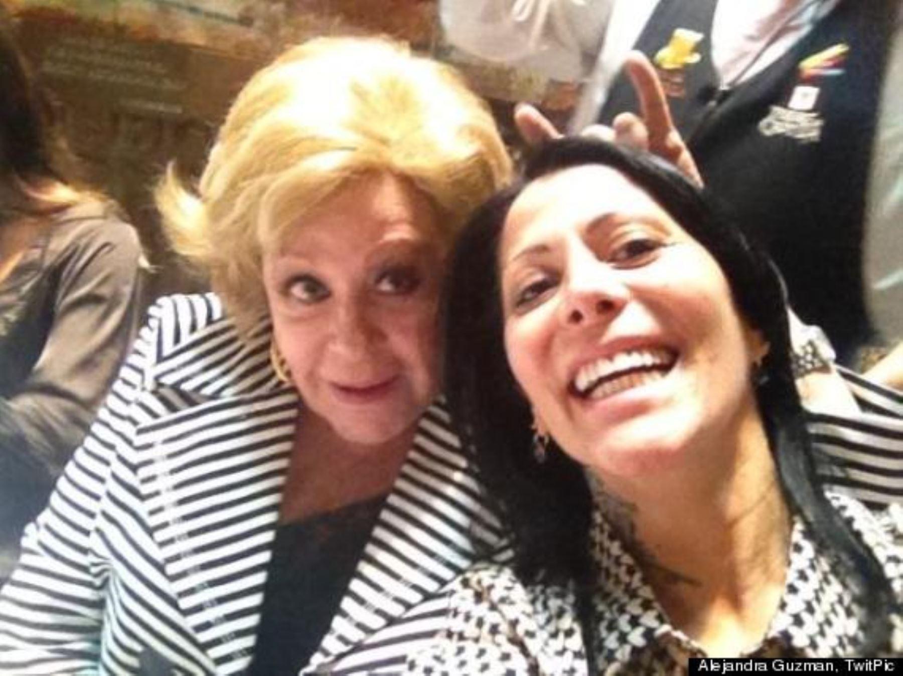 Foto: Alejandra Guzmán y Silvia Pinal
