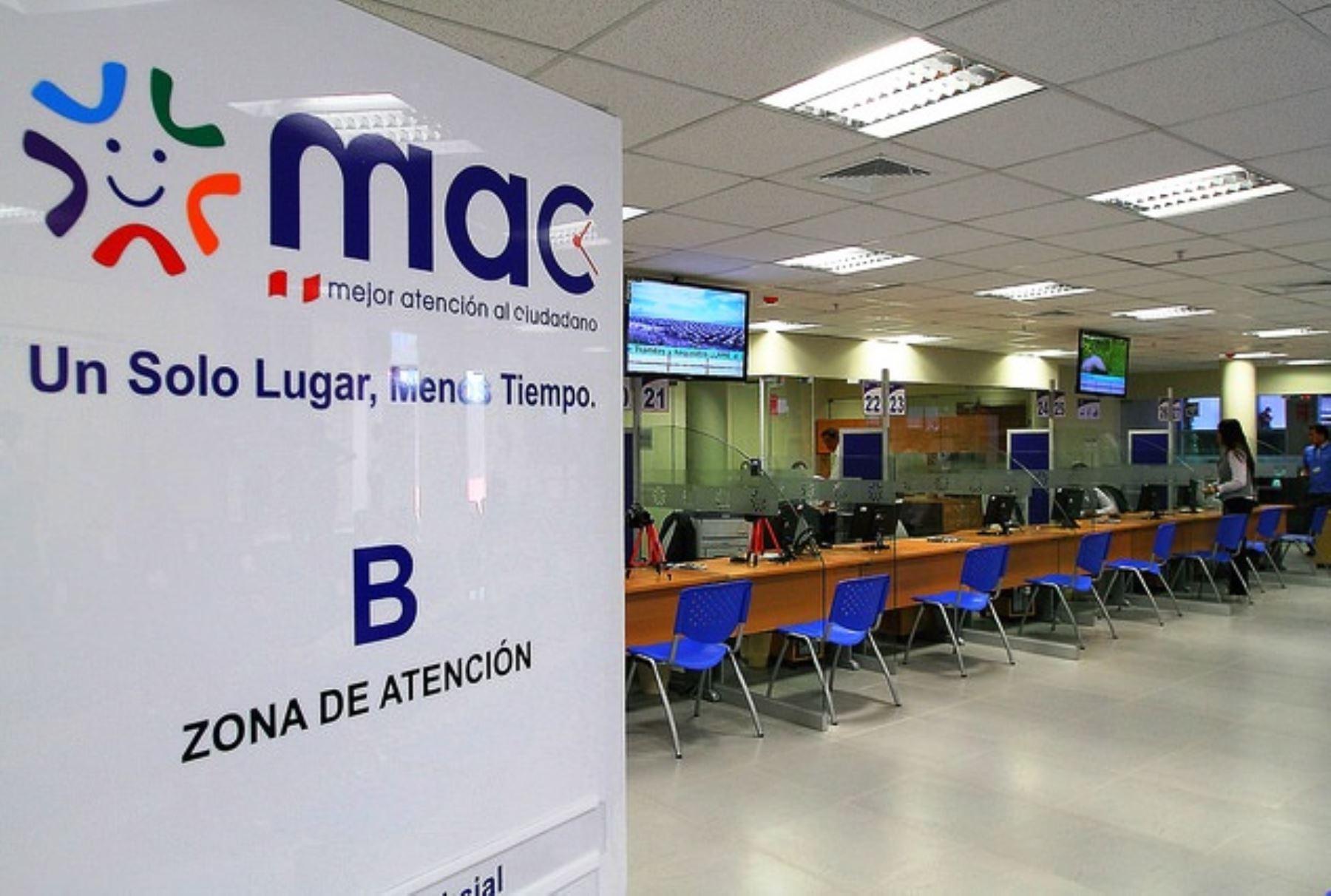 Oficina del Centro MAC en Lima Norte