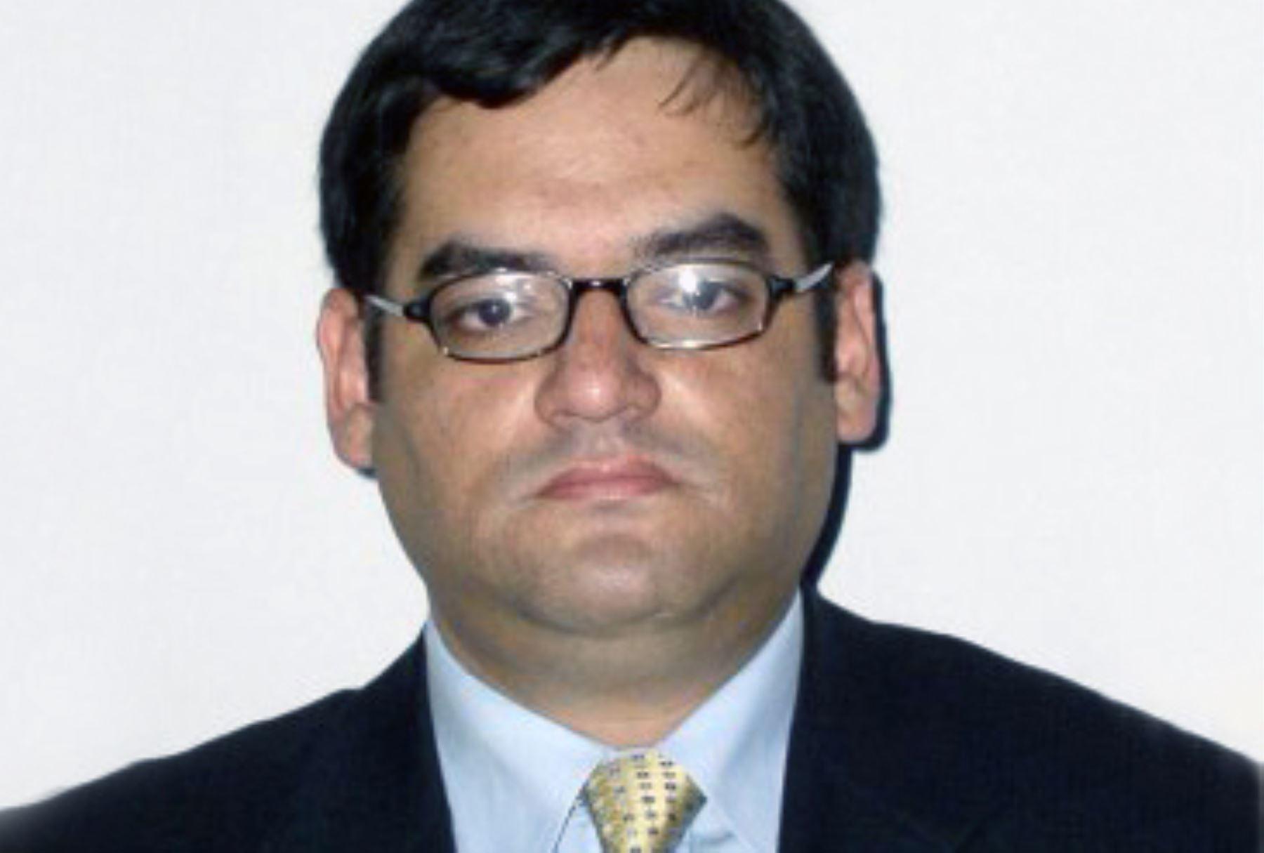 Procurador antiterrorismo Milko Ruiz. ANDINA/Difusión