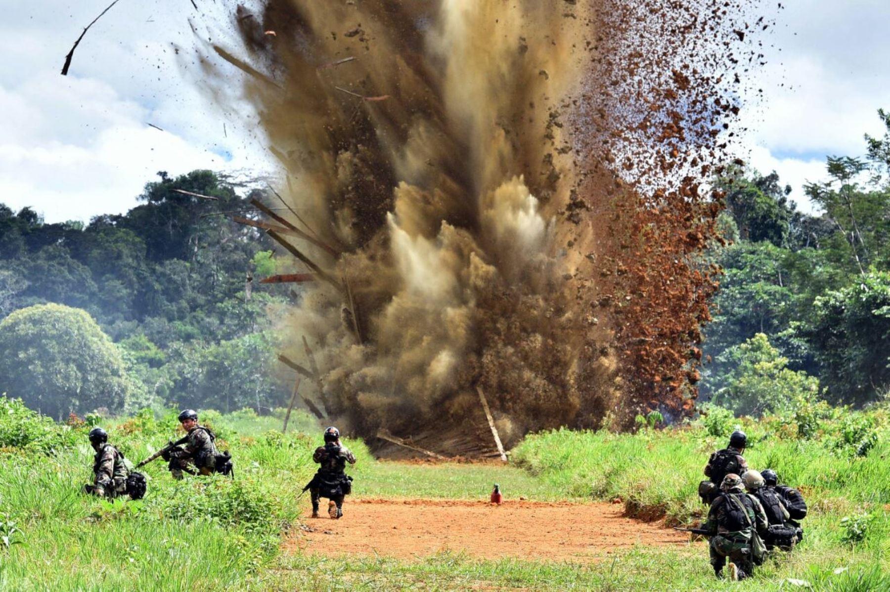 A nivel nacional, durante 120 operaciones de interdicción se han destruido 86 pistas clandestinas.
