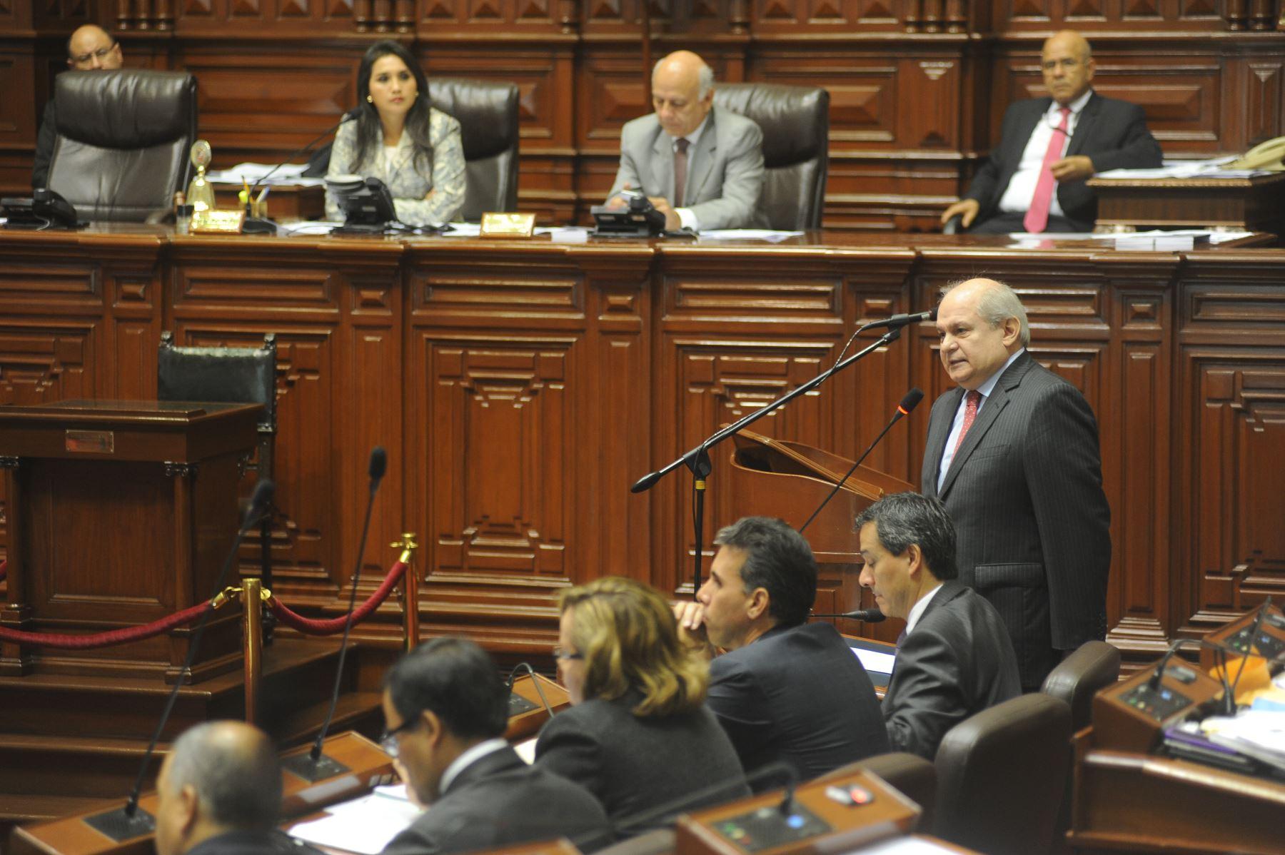 Pleno del Congreso aprobó facultades legislativas en seguridad ciudadana.