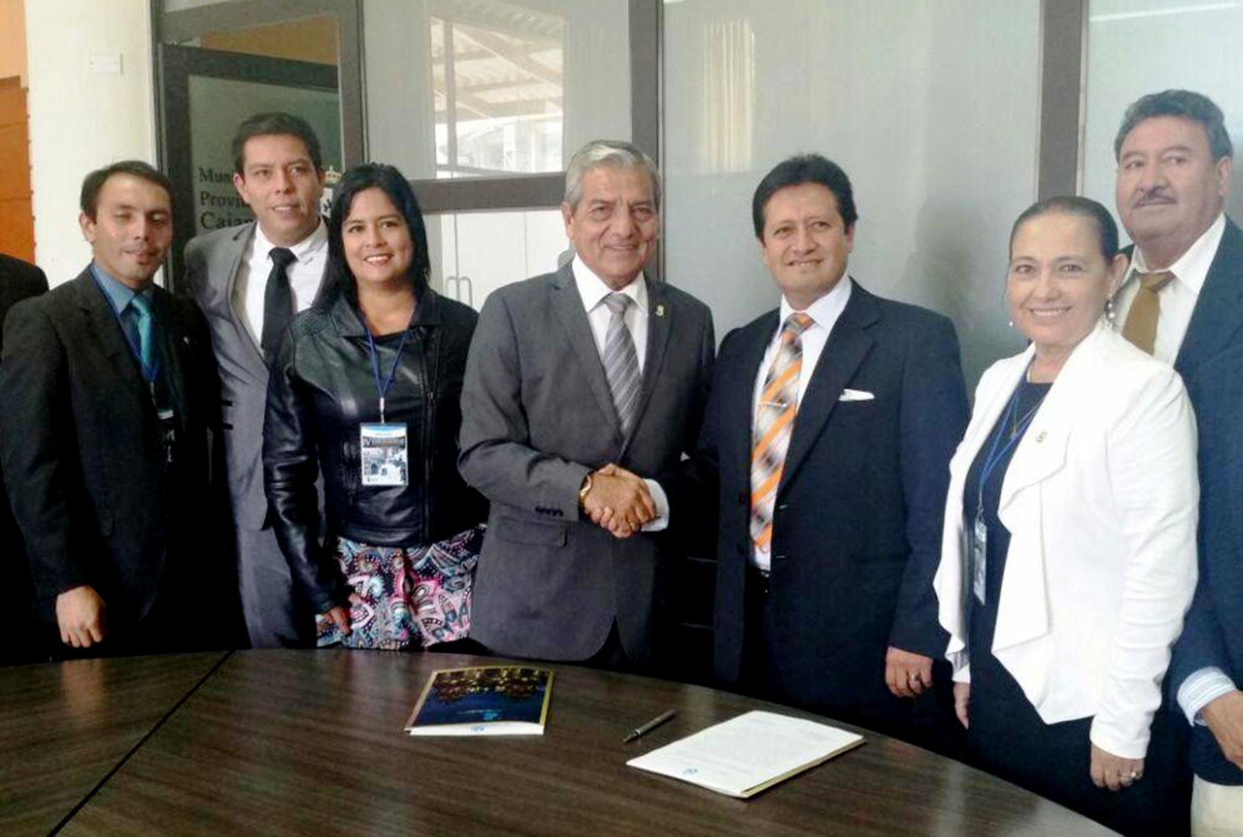Municipalidades de Trujillo y Cajamarca acuerdan impulsar sector turismo y cultura. Foto: ANDINA/Difusión.