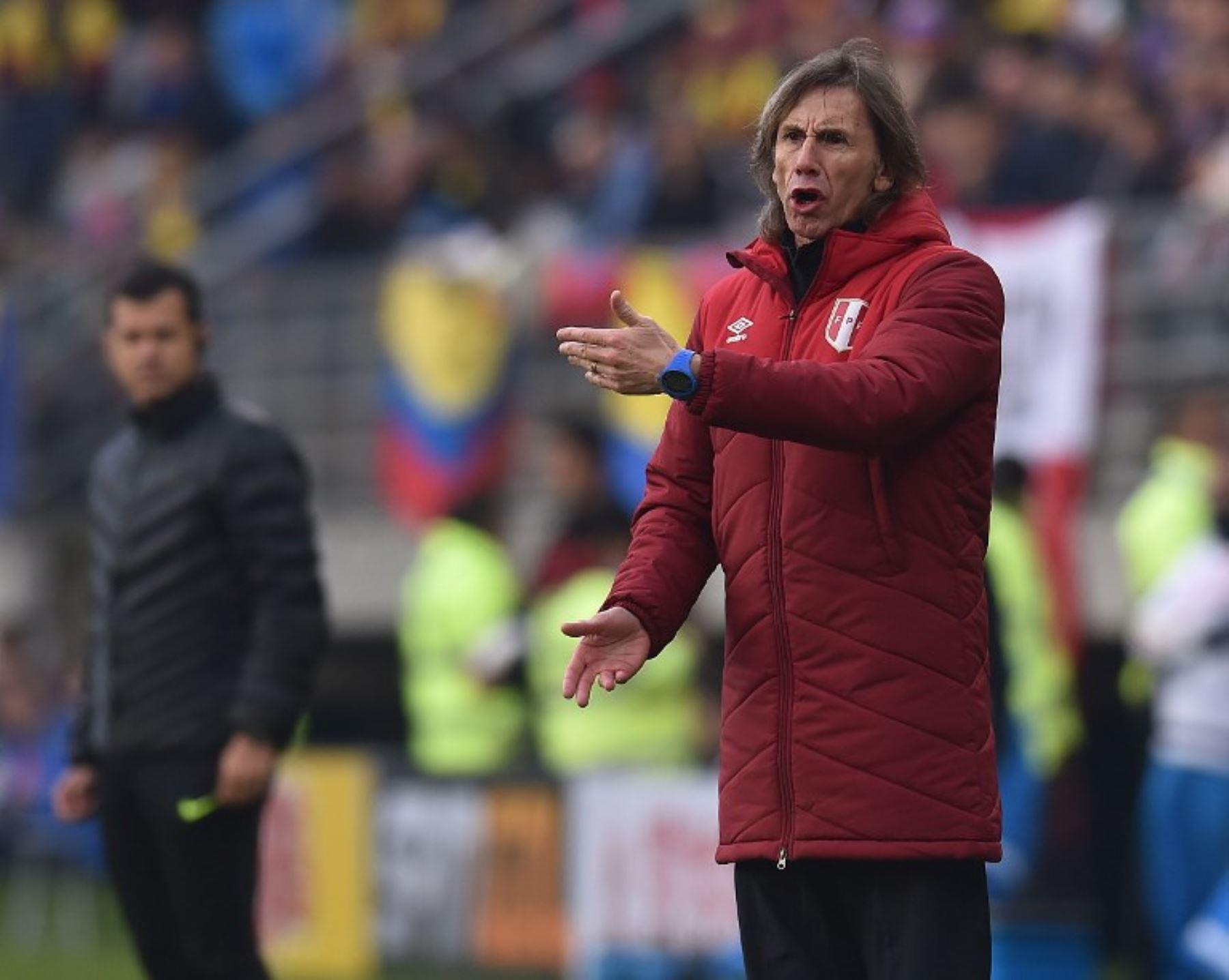Técnico Gareca confía en el equipo peruano