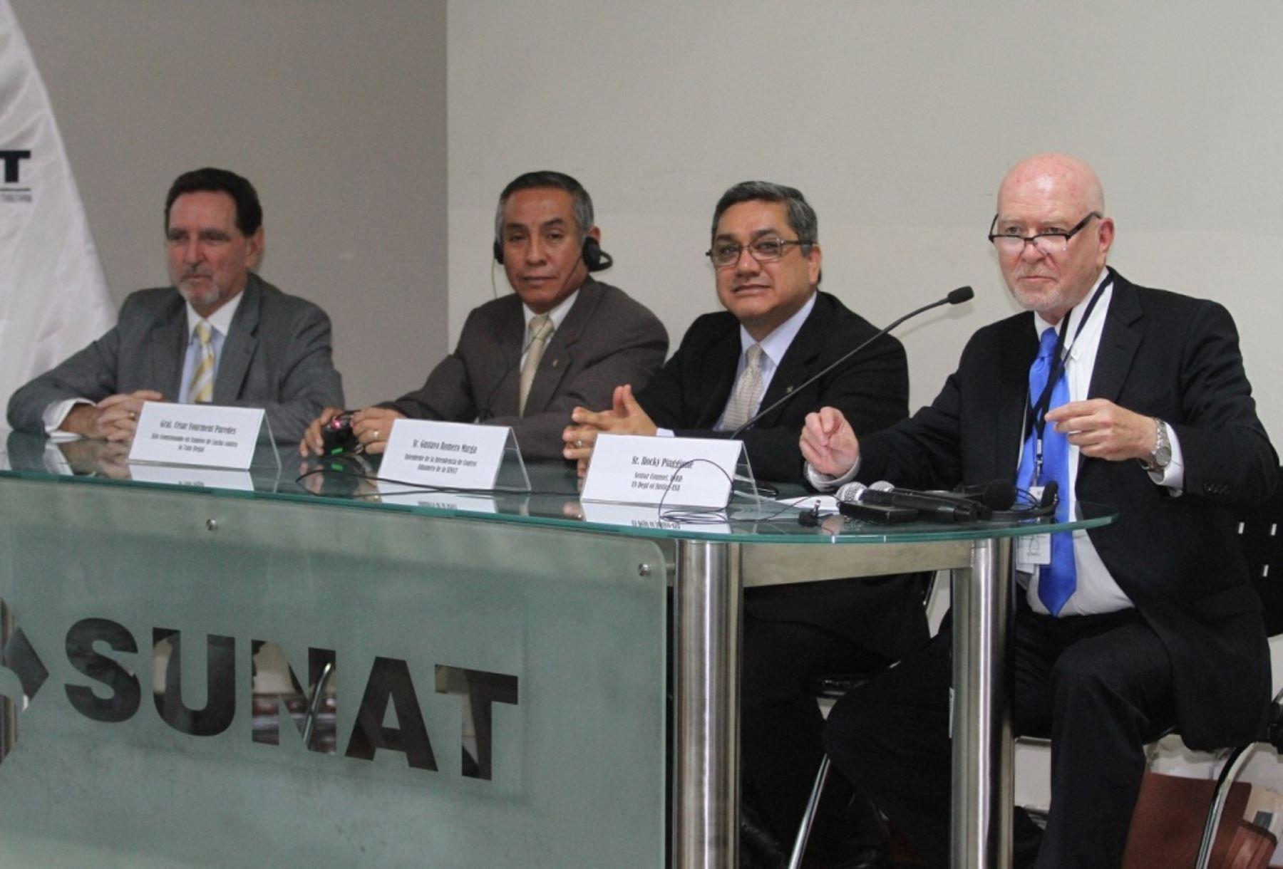 Perú fortalece coordinación con EEUU para combatir el tráfico ilícito de madera. Foto: ANDINA/Difusión.