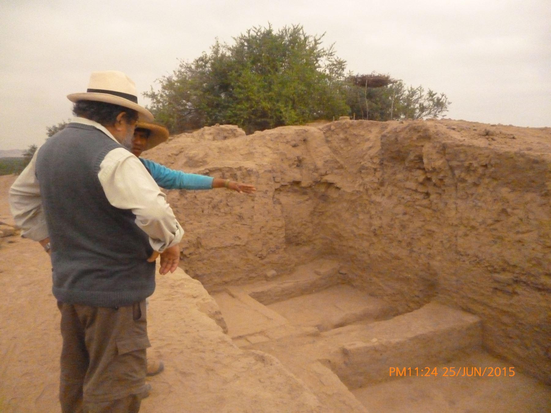Se tiene programado continuar con la excavación un par de semanas más.