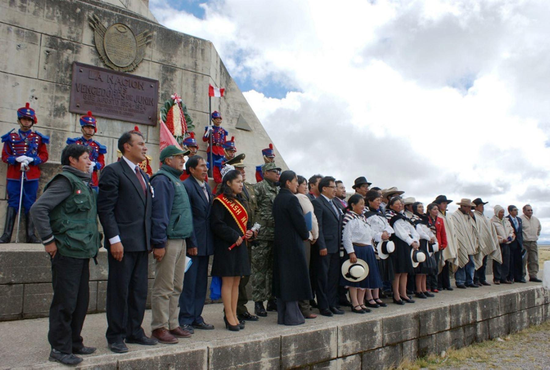 Monumento Vencedores de Junín es reconocido como Patrimonio de la Nación. Foto: ANDINA/Difusión.