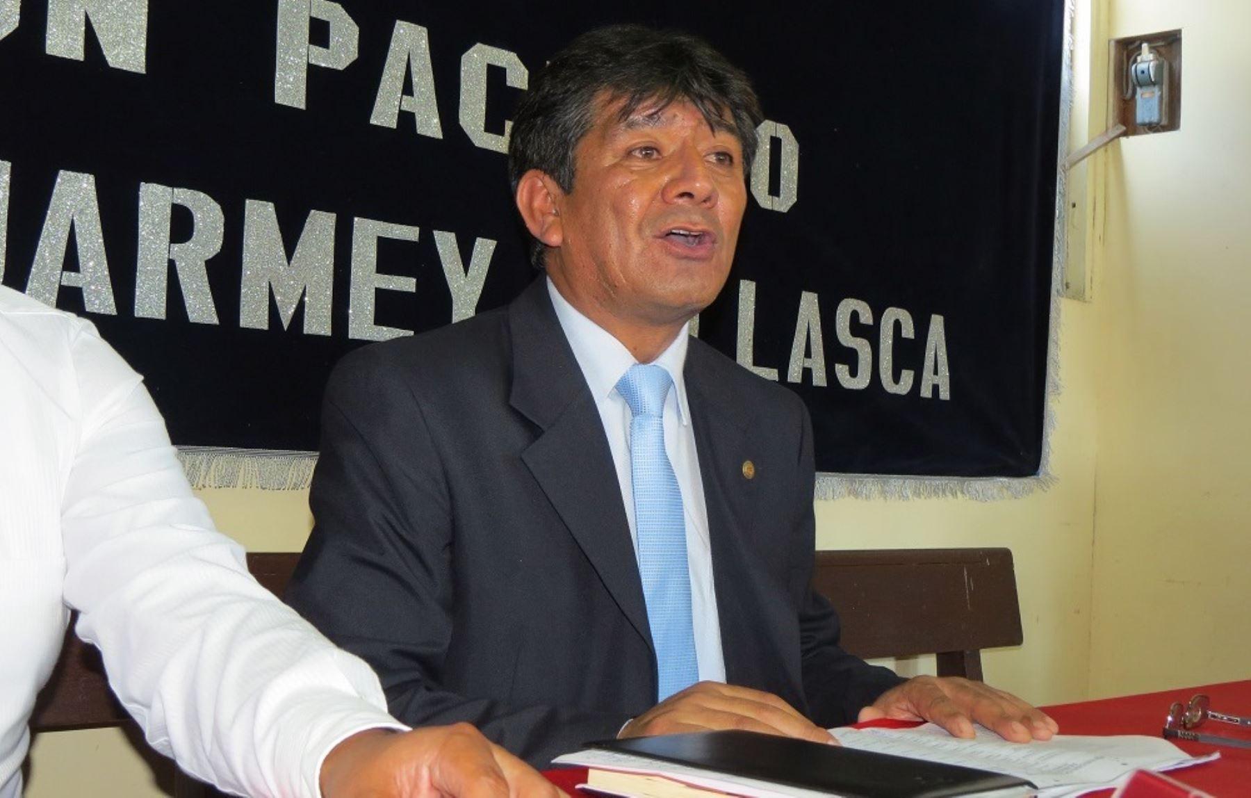 Gerente de la Subregión Pacífico de Áncash, Henry Vásquez, informó que se requieren recursos para reiniciar obras. ANDINA