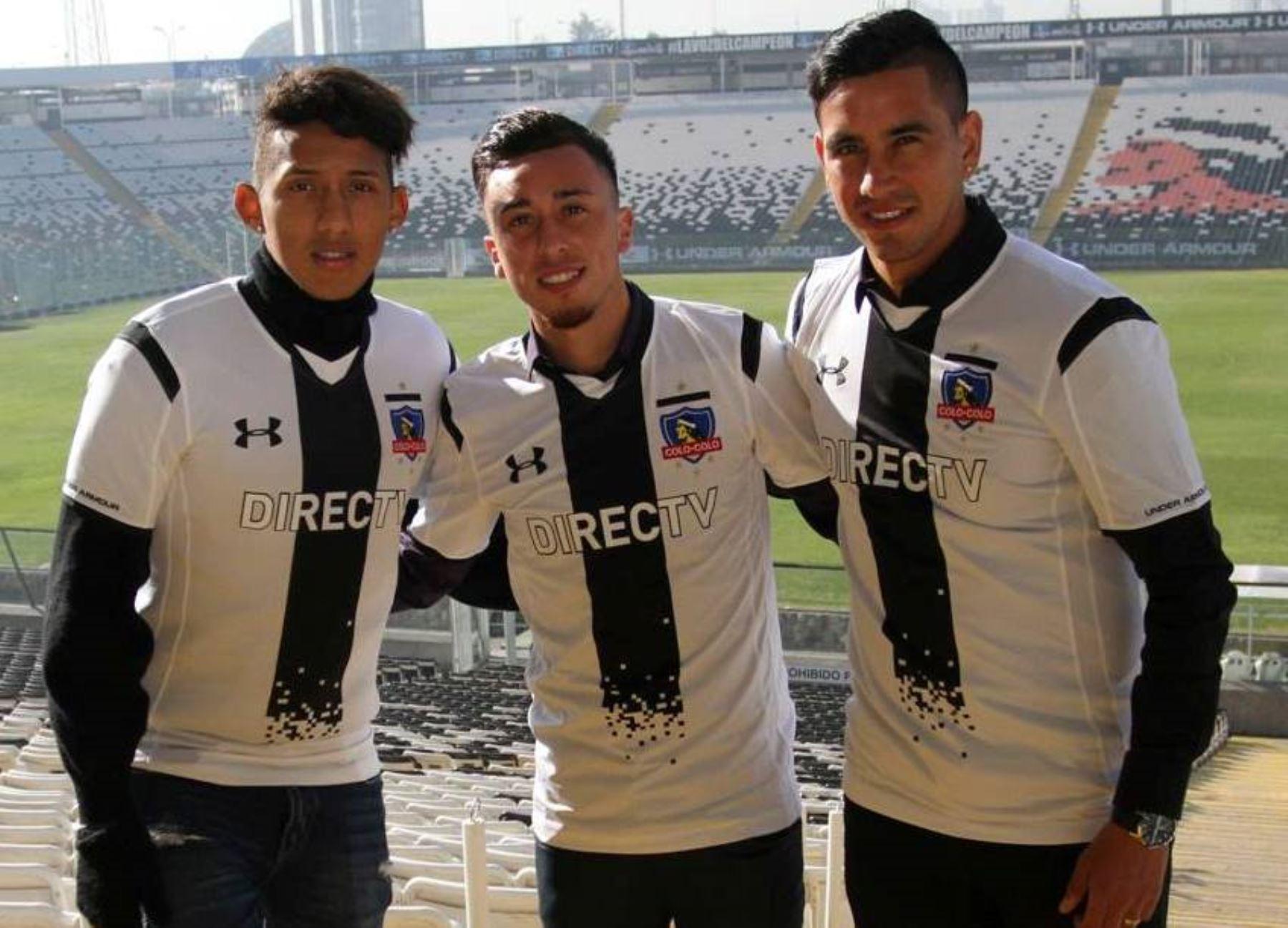 Christopher Gonzales fue presentado como nuevo refuerzo del Colo-Colo |  Noticias | Agencia Peruana de Noticias Andina