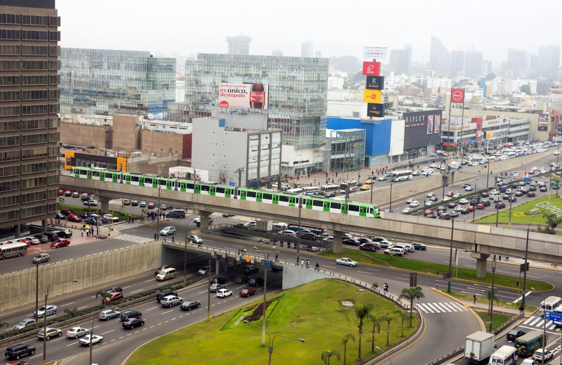 Línea 1 del Metro de Lima. Foto: Difusión.