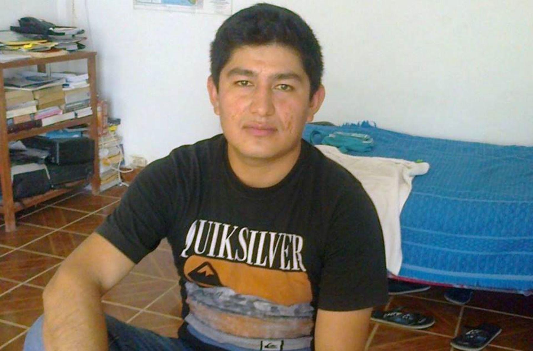 La Policía halló a Manuel Herrera Peña, uno de los trabajadores de la minera Río Blanco Copper perdidos en la sierra de Piura. ANDINA