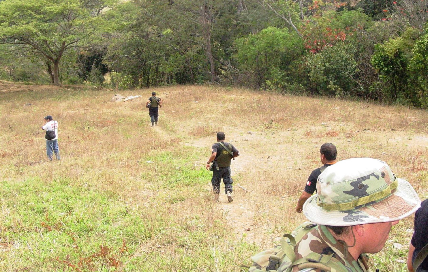 Policía intensifica su búsqueda de los otros tres trabajadores de la minería Río Blanco que continúan desaparecidos en Piura. ANDINA
