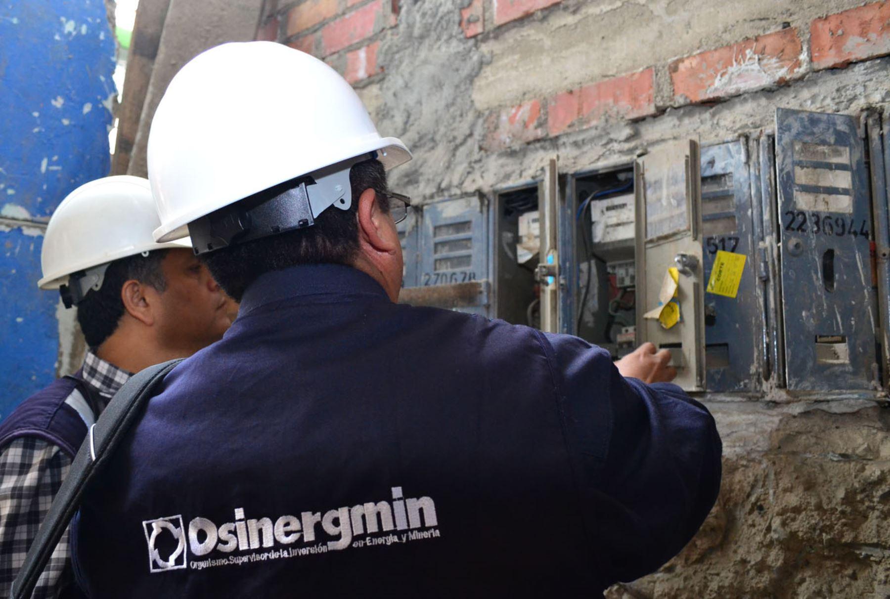 Osinergmin actualiza tarifas eléctricas en función a factores macroeconómicos