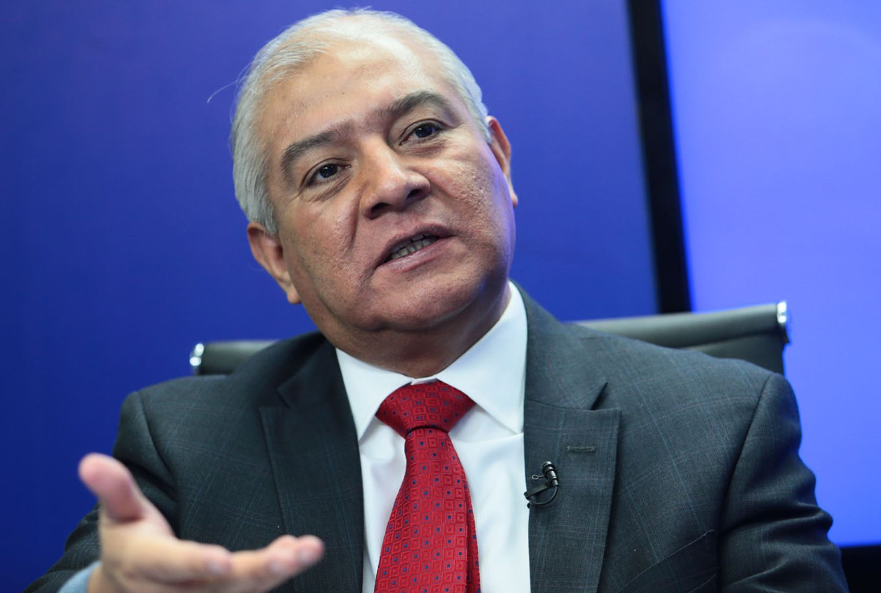 Wilfredo Pedraza, abogado de Nadine Heredia. Foto: ANDINA/Carlos Lezama